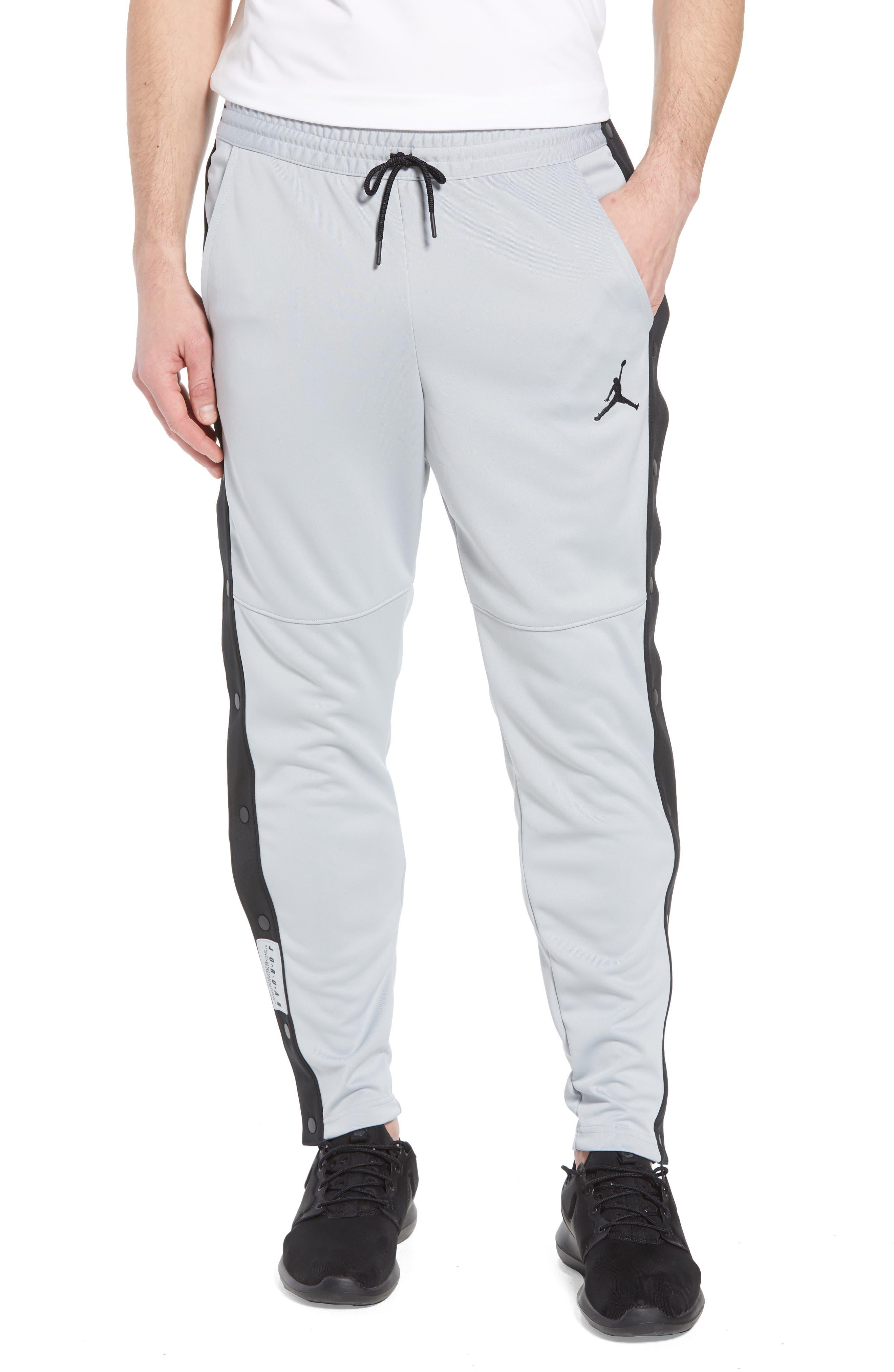 Rise Tear-Away Jogger Pants,                         Main,                         color, Wolf Grey/ Black