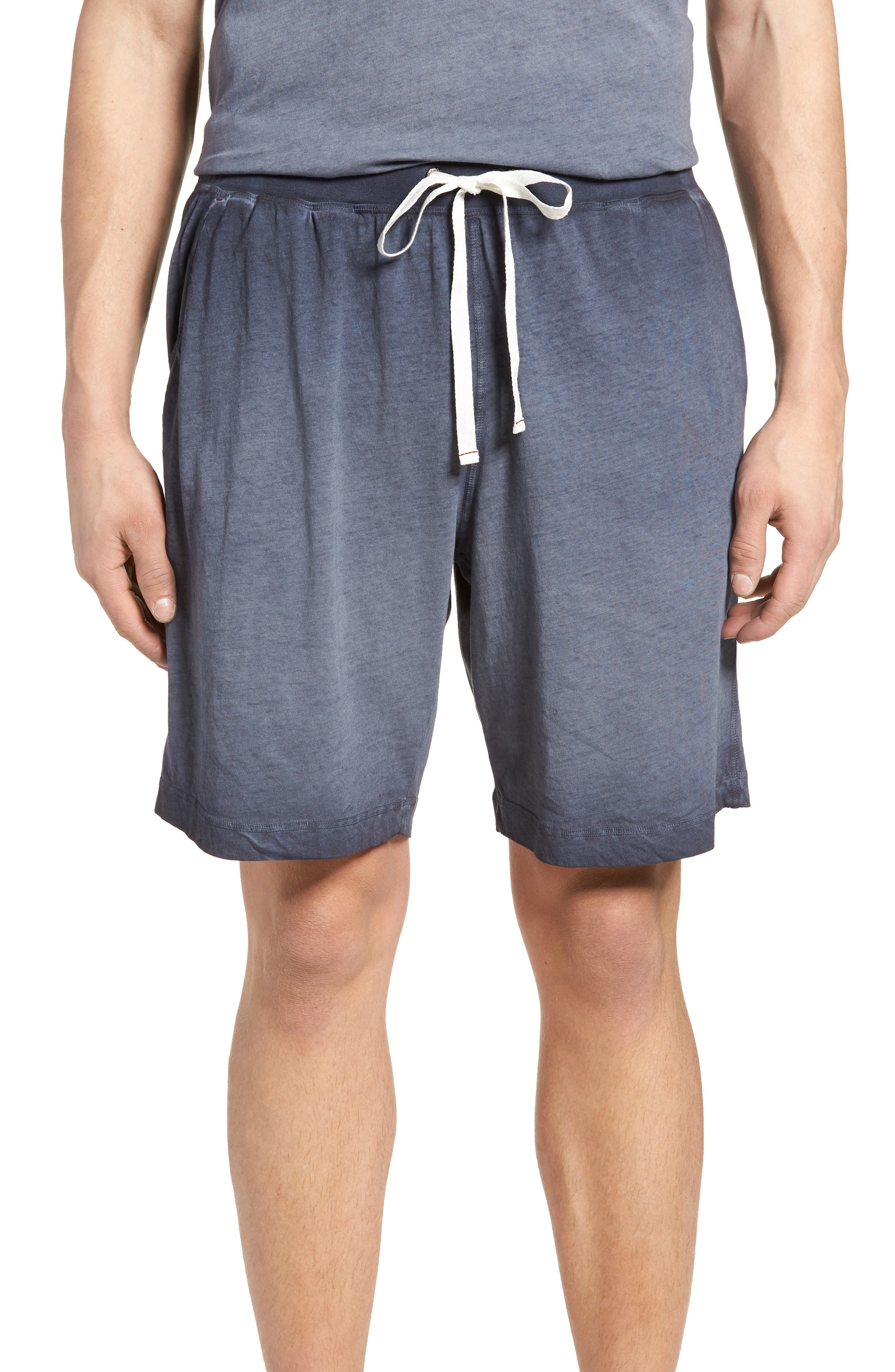 Daniel Buchler Cotton Vintage Knit Shorts