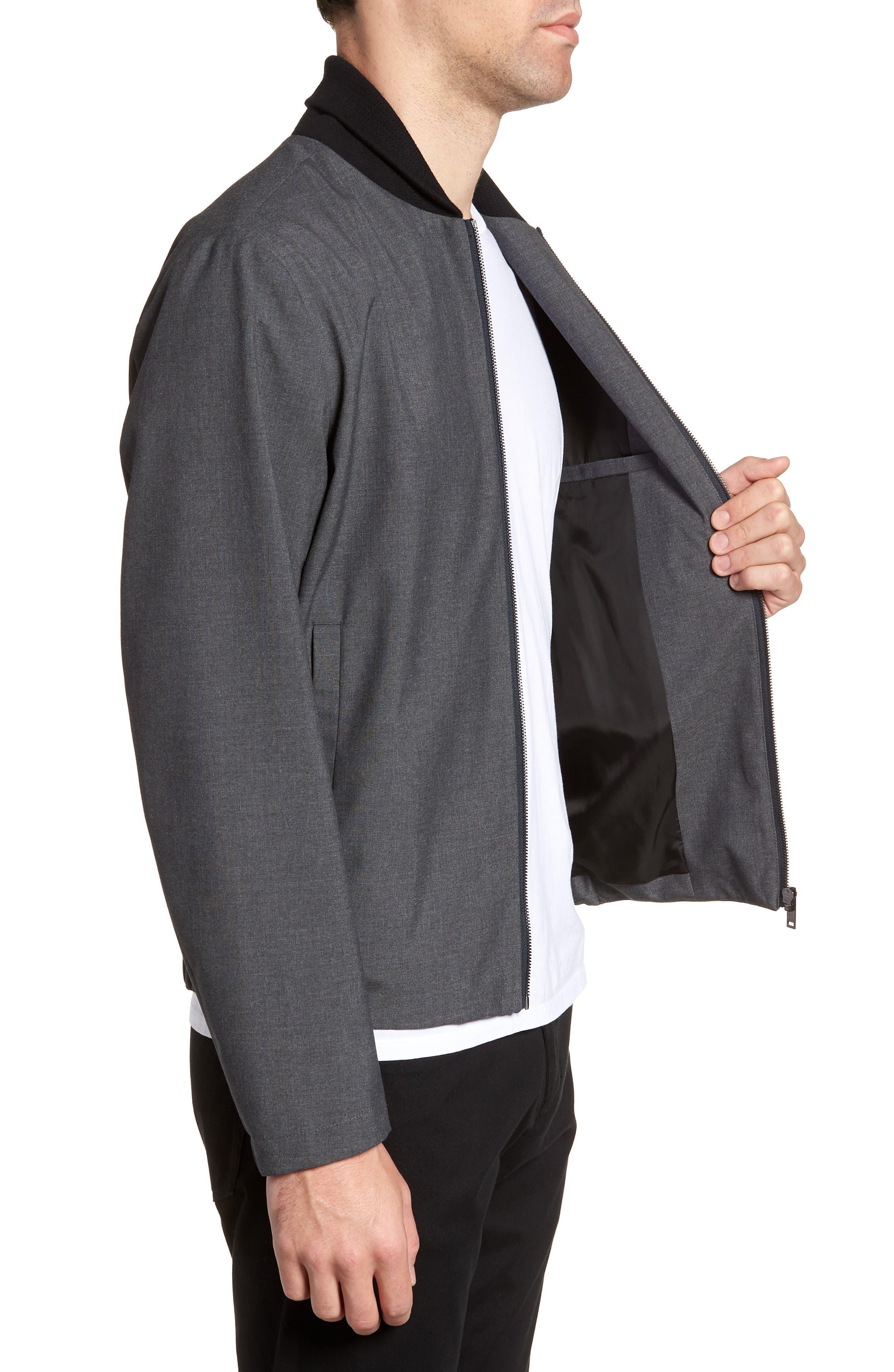 Alternate Image 3  - Theory Amir Bomber Jacket