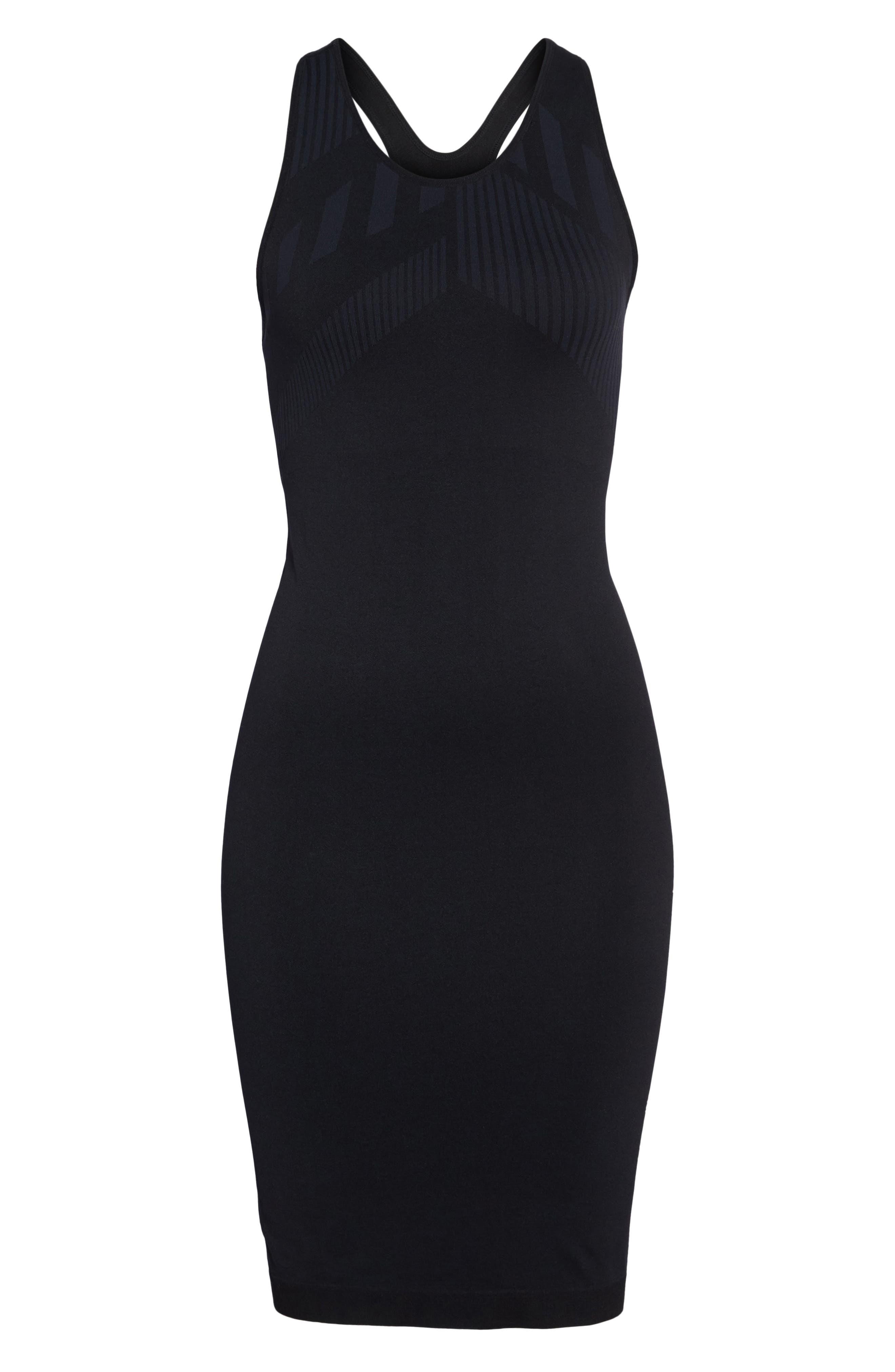 Spectrum Dress,                             Alternate thumbnail 6, color,                             Black