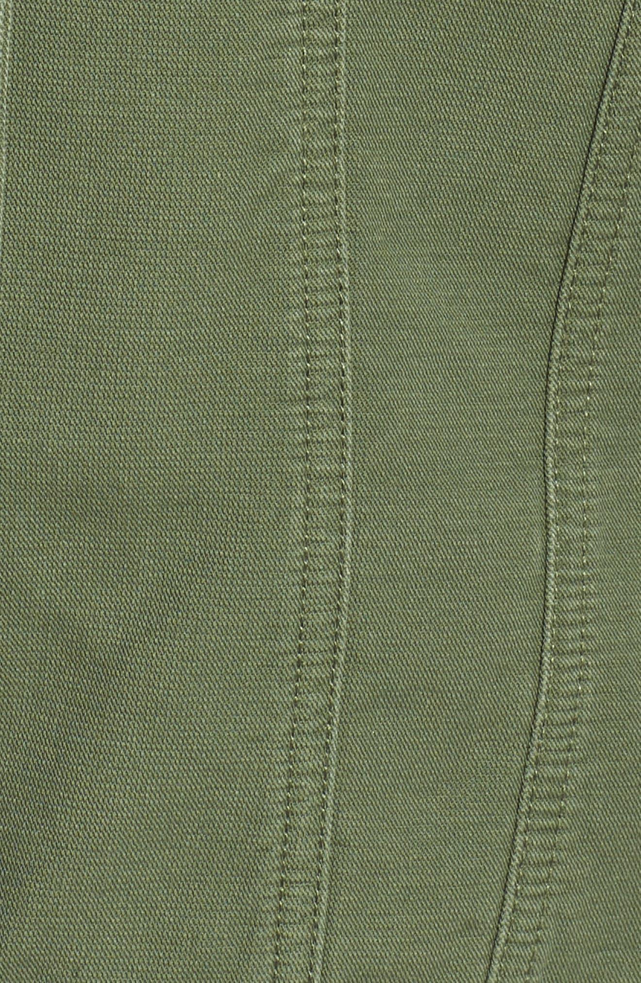 Alternate Image 5  - Levi's® Oversize Cotton Canvas Trucker Jacket (Plus Size)
