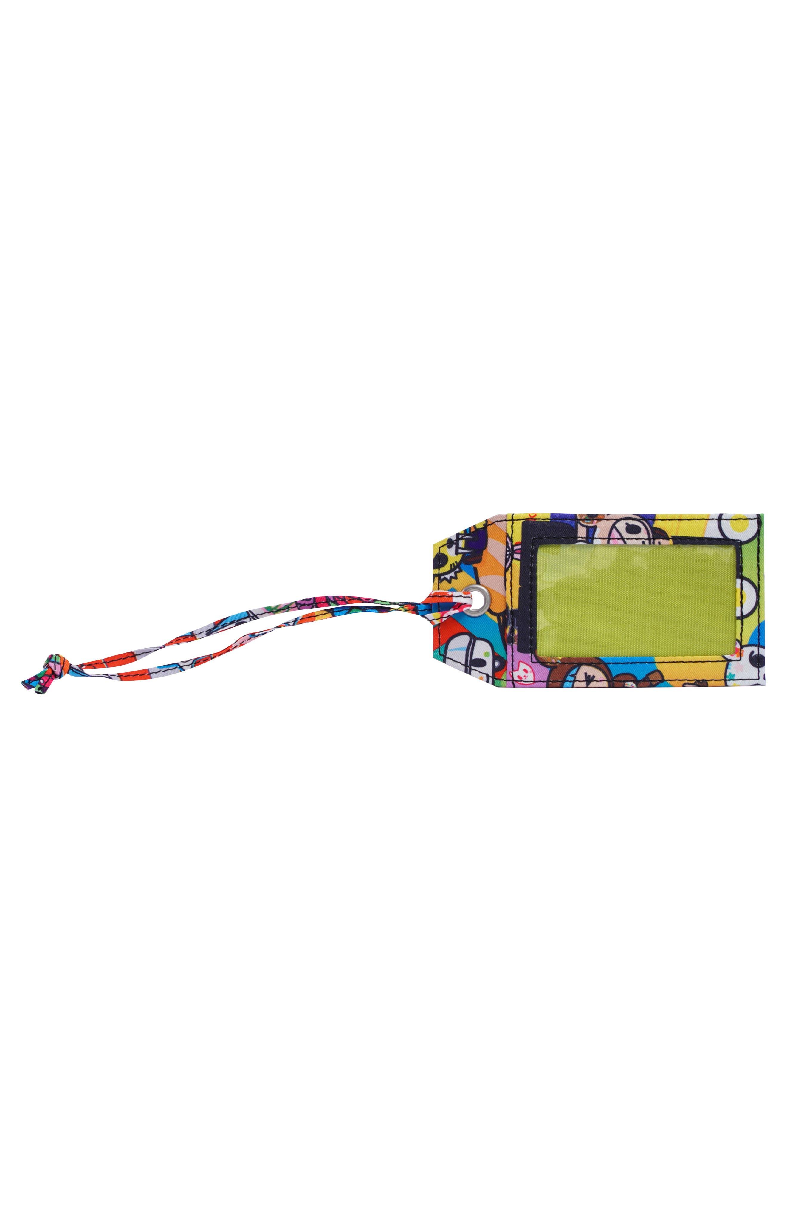 x tokidoki for Hello Sanrio Rainbow Dreams Be Tagged Luggage Tag,                             Alternate thumbnail 2, color,                             Sushi Cars