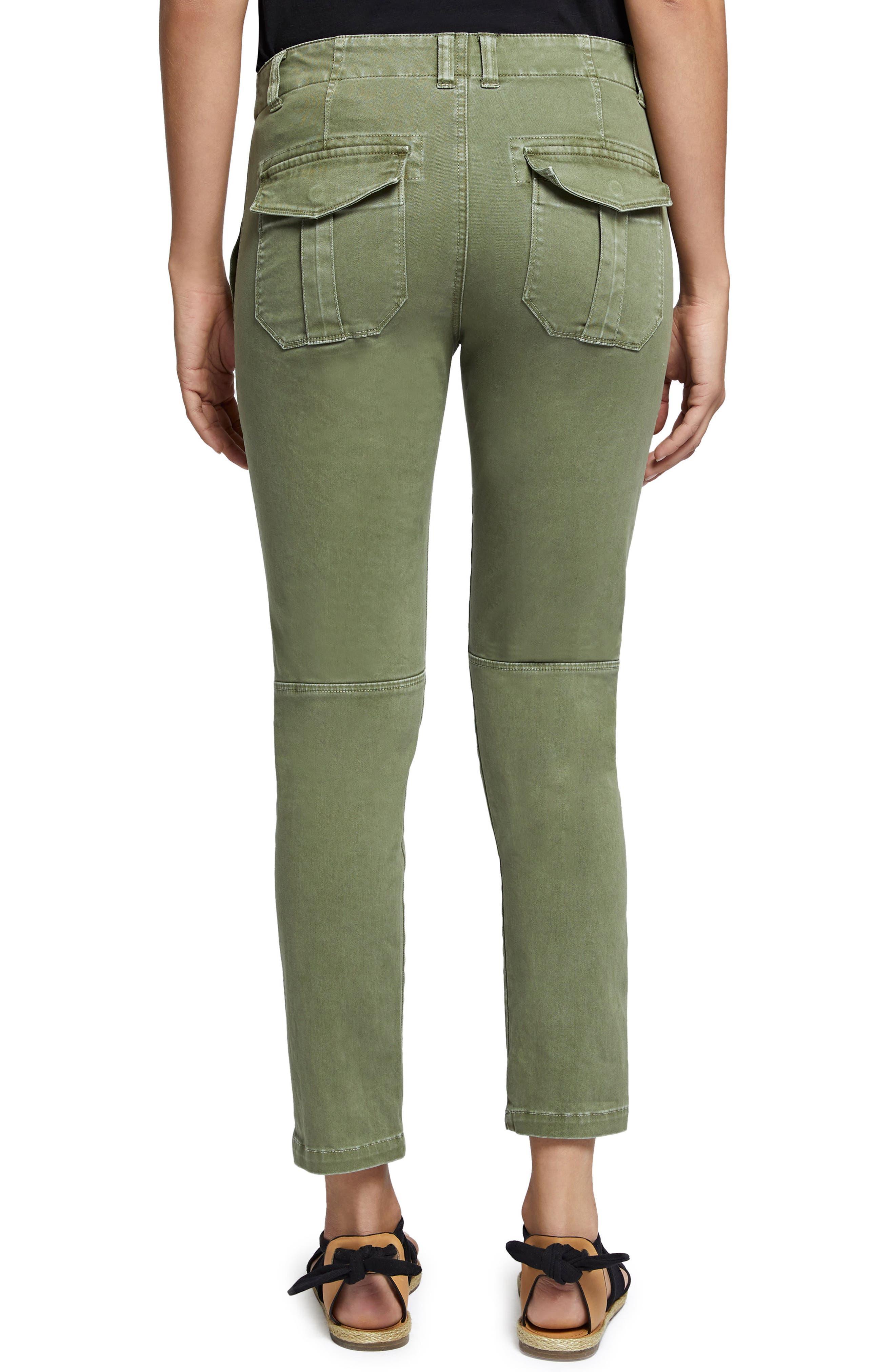 Peace Lace-Up Pants,                             Alternate thumbnail 2, color,                             Cadet
