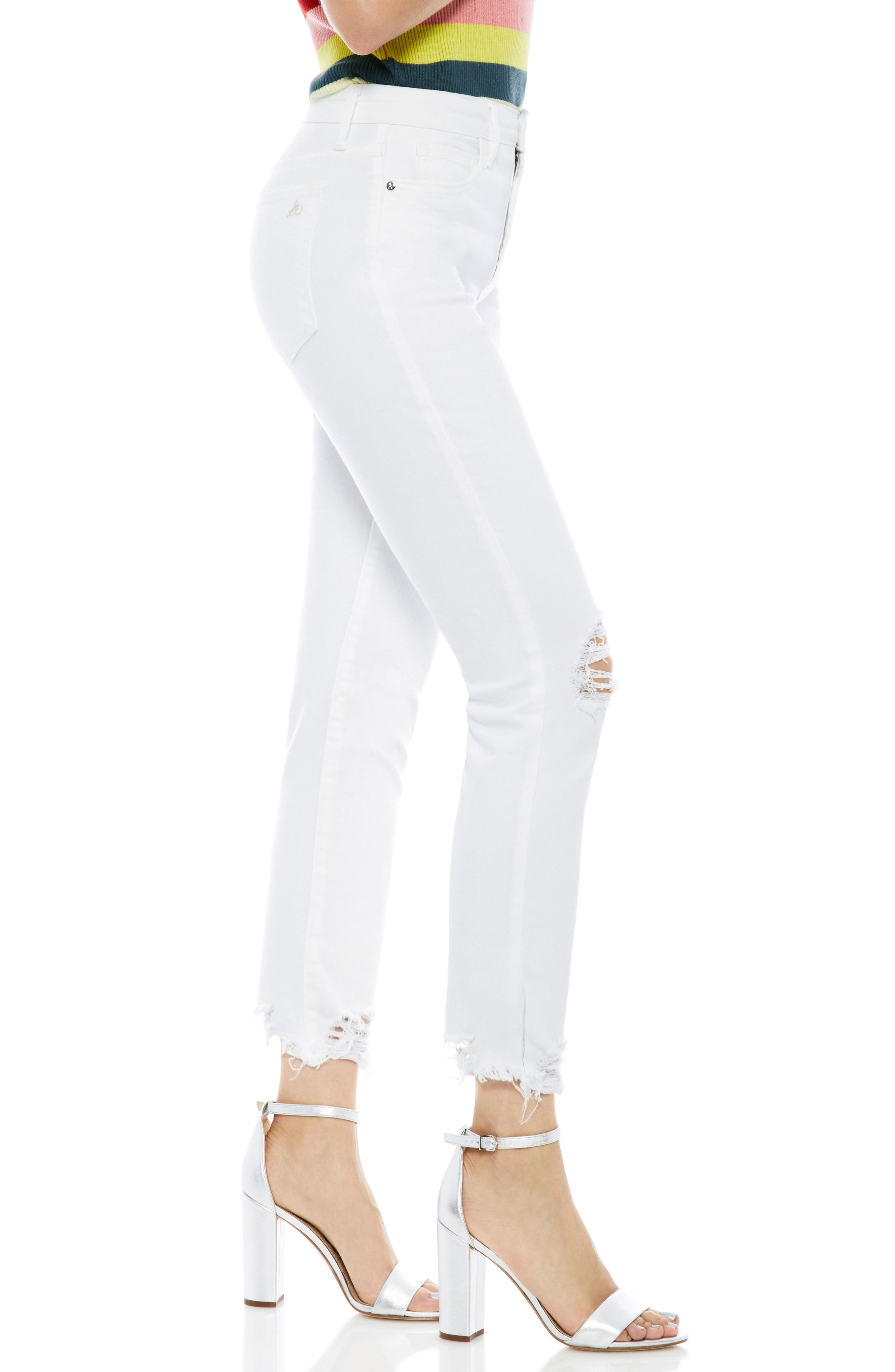 The Mary Jane Ankle Jeans,                             Alternate thumbnail 3, color,                             Sammie