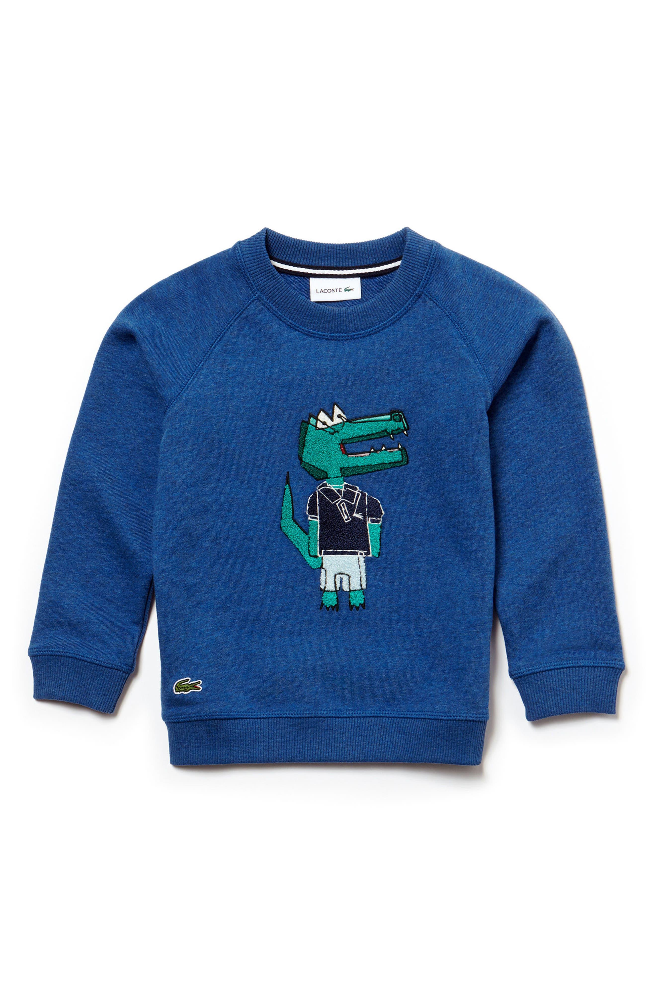 Lacoste Crocodile Sweater (Toddler Boys & Little Boys)