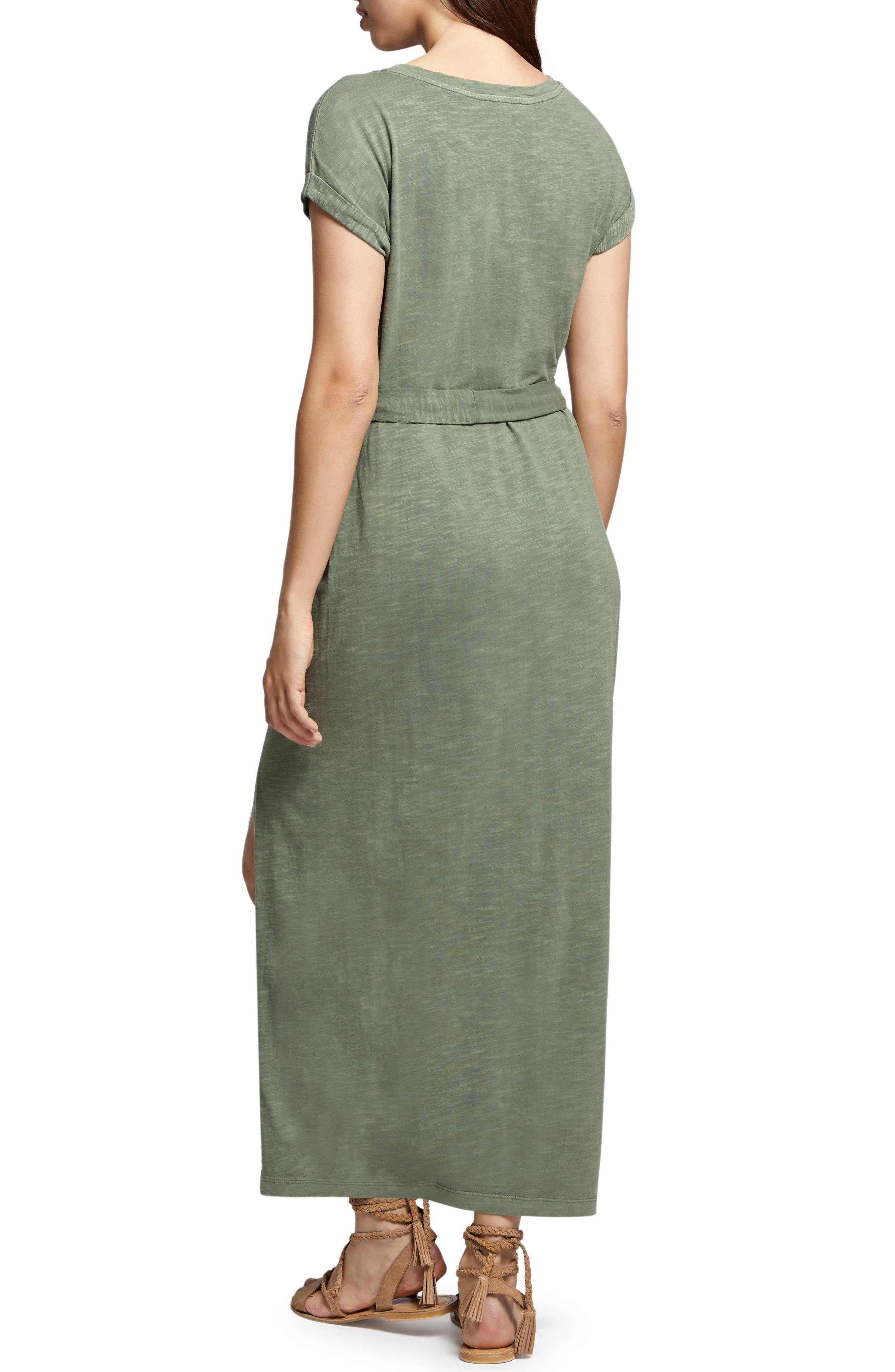 Isle Maxi Dress,                             Alternate thumbnail 2, color,                             Cadet