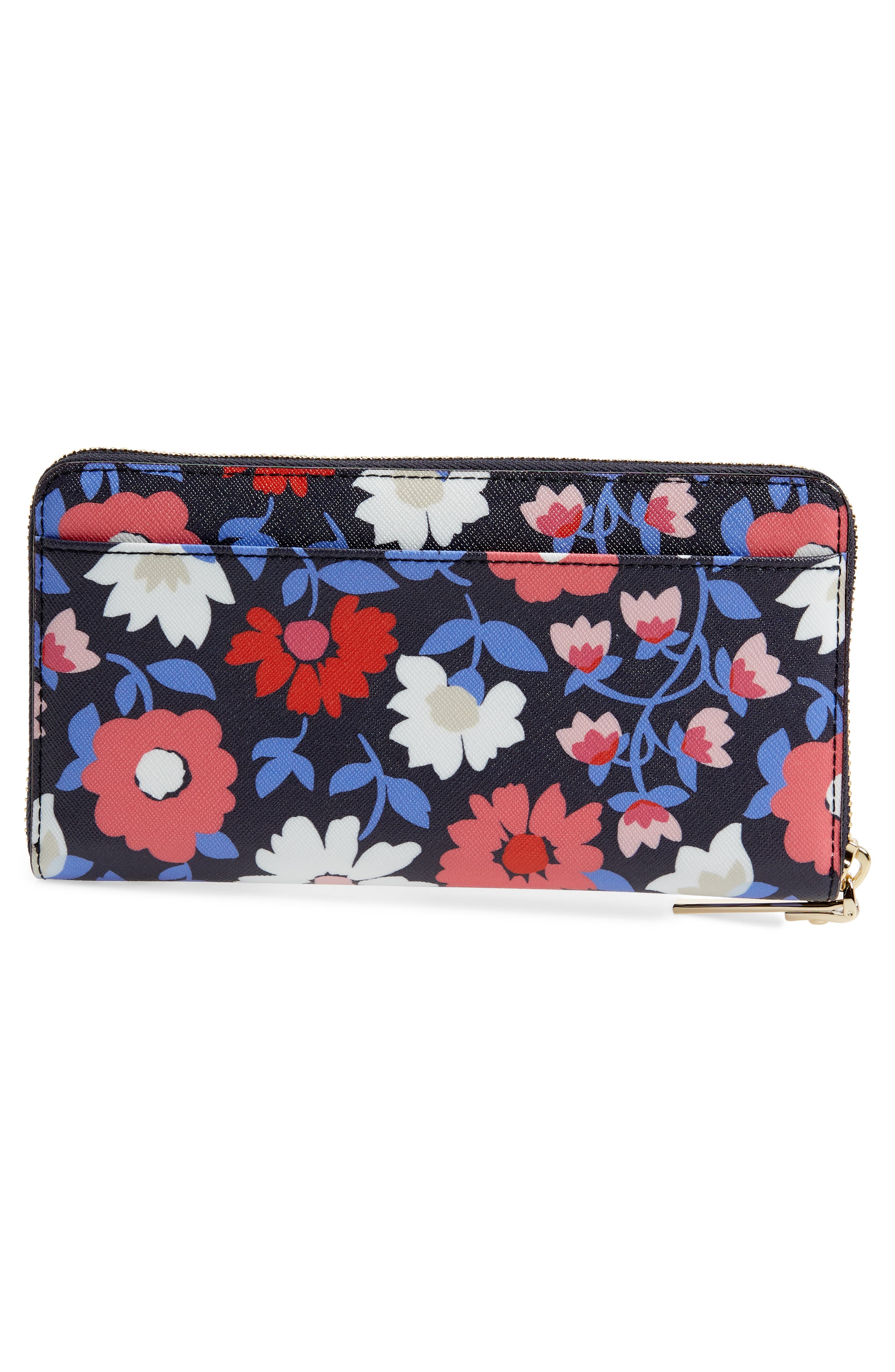 cameron street - daisy lacey zip around wallet,                             Alternate thumbnail 4, color,                             Multi