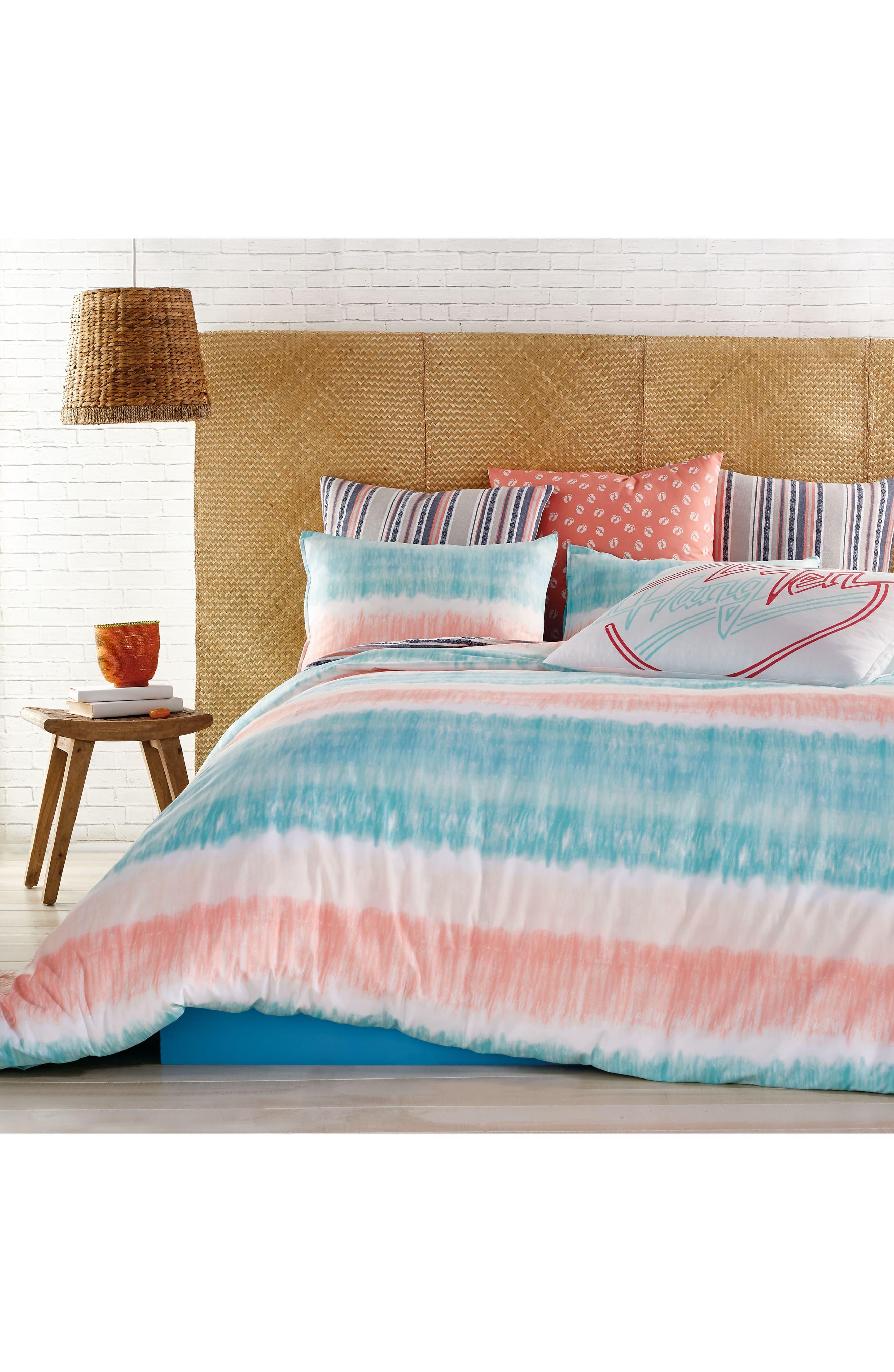 Hang Ten Tie Dye Comforter & Sham Set