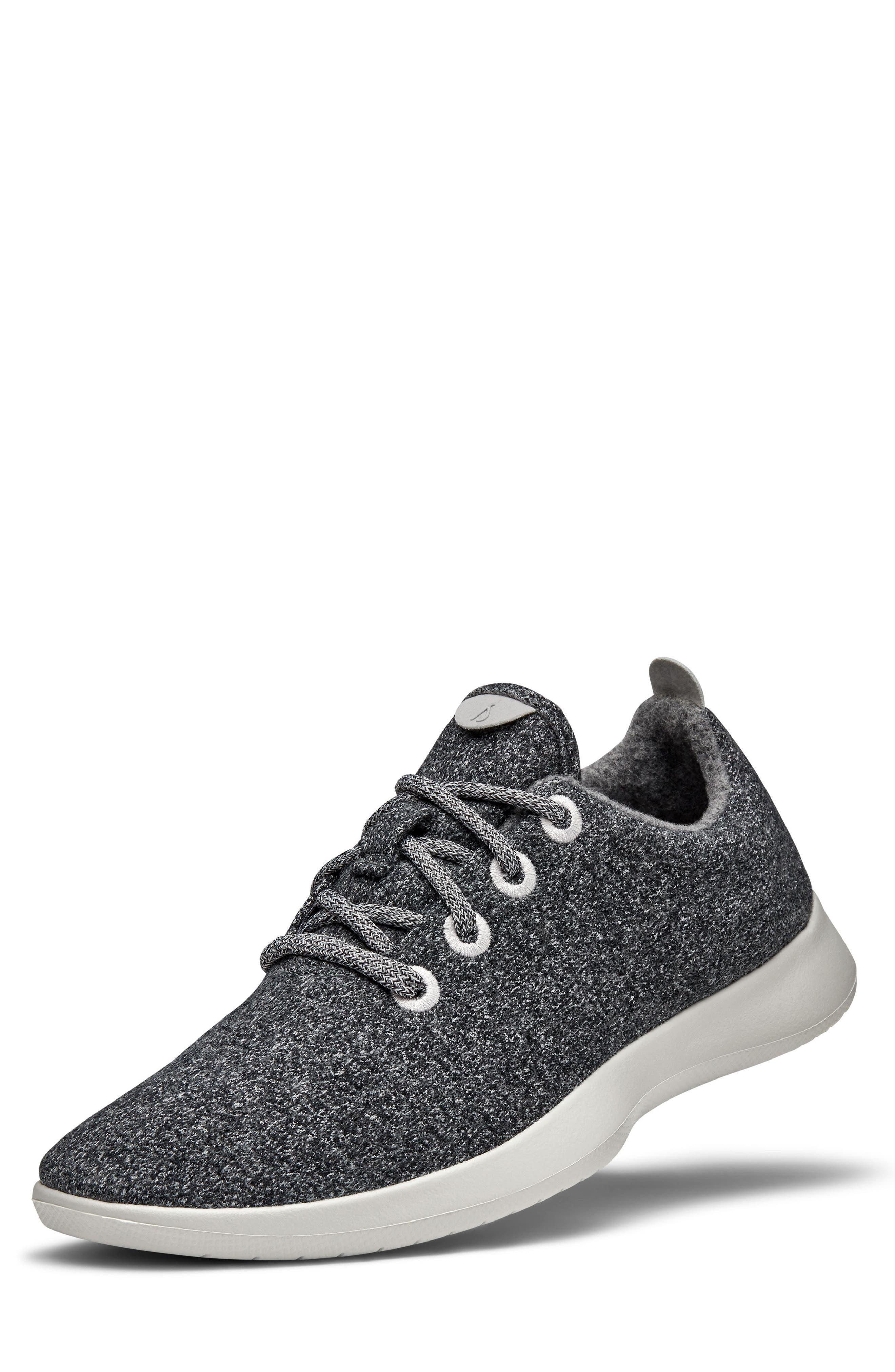 Wool Runner,                             Main thumbnail 1, color,                             Natural Grey