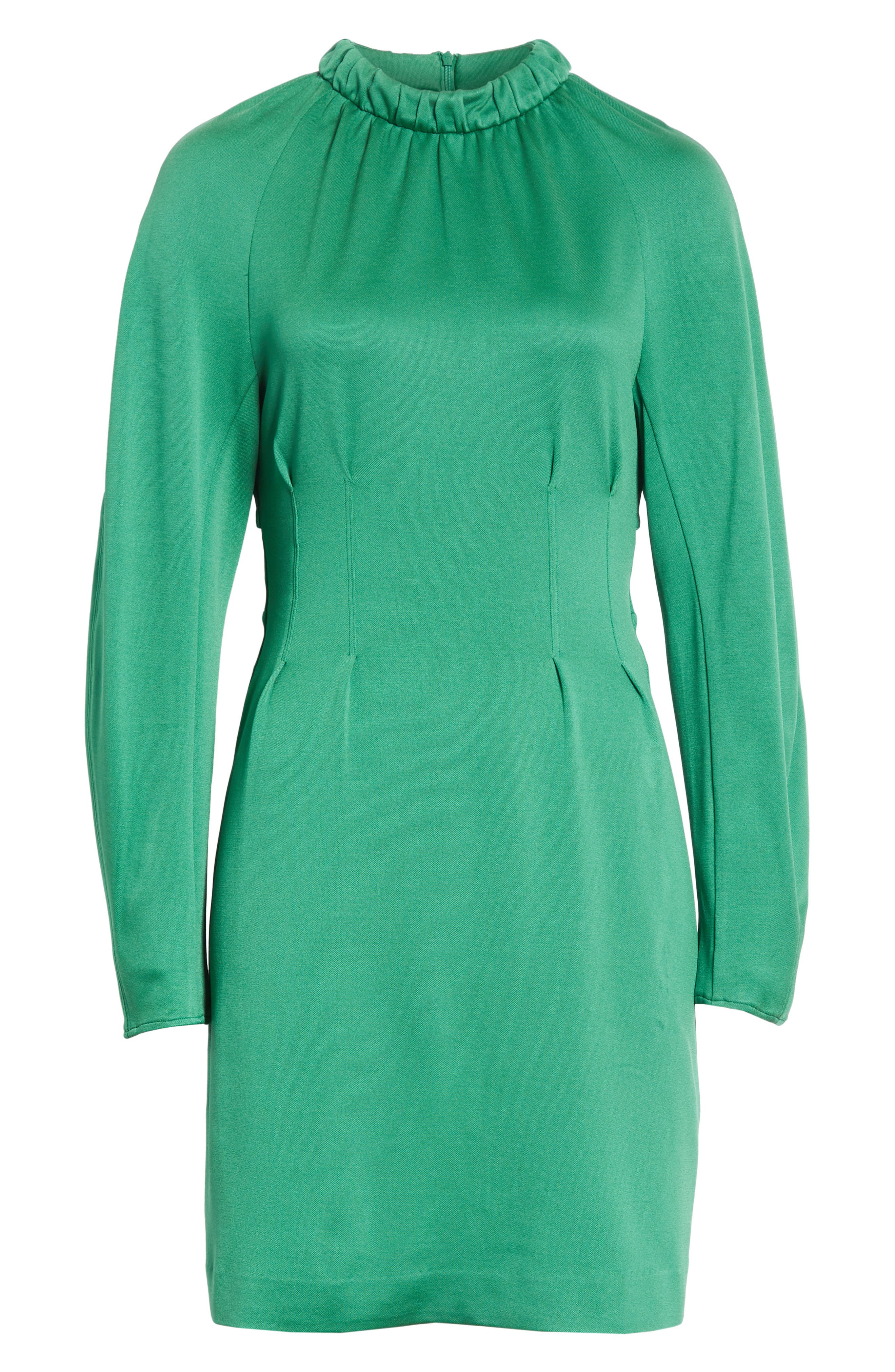 Astor Knit Sheath Dress,                             Alternate thumbnail 6, color,                             Green