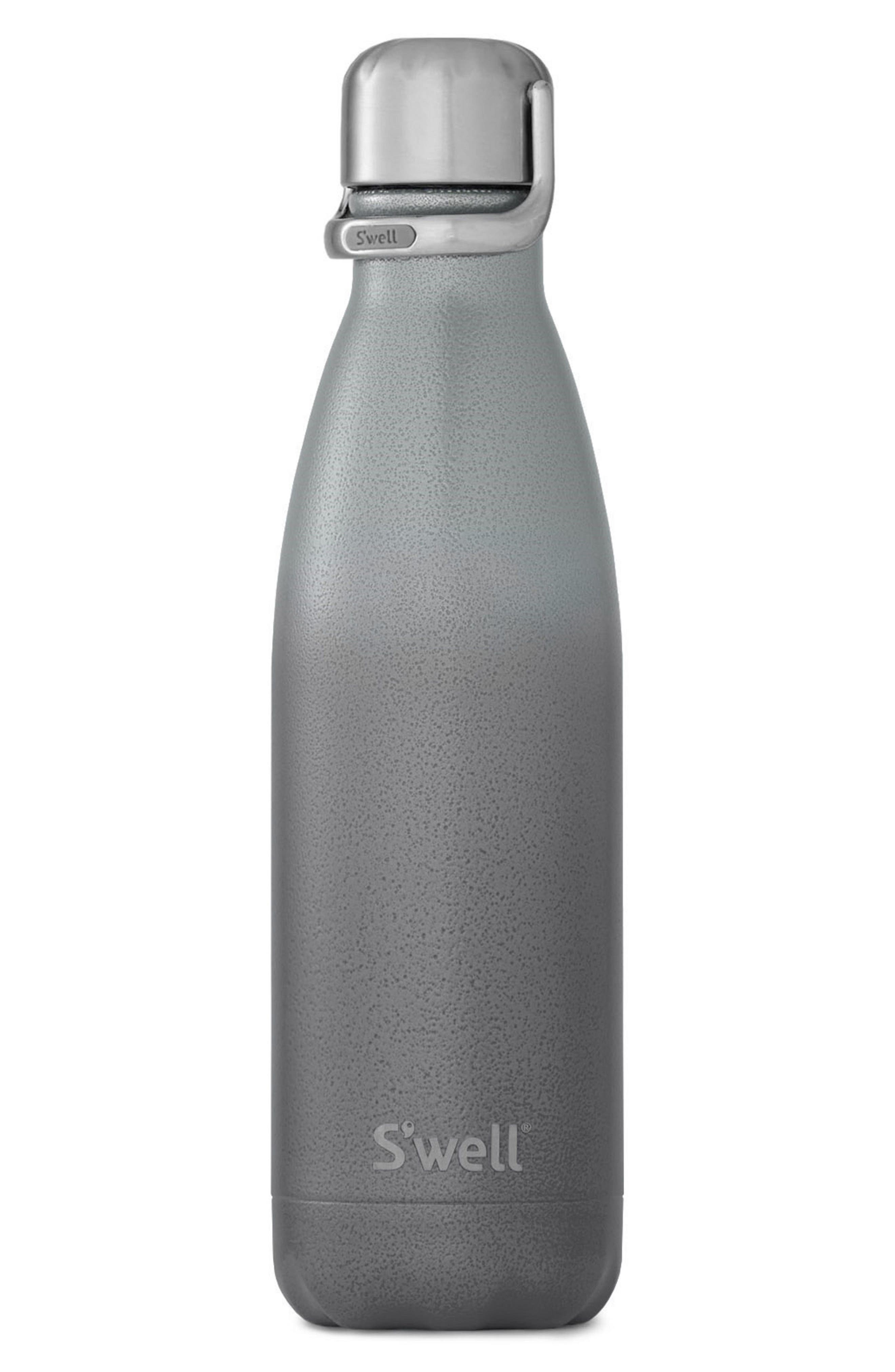 Zeus Stainless Steel Water Bottle with Sport Cap,                             Main thumbnail 1, color,                             Zeus