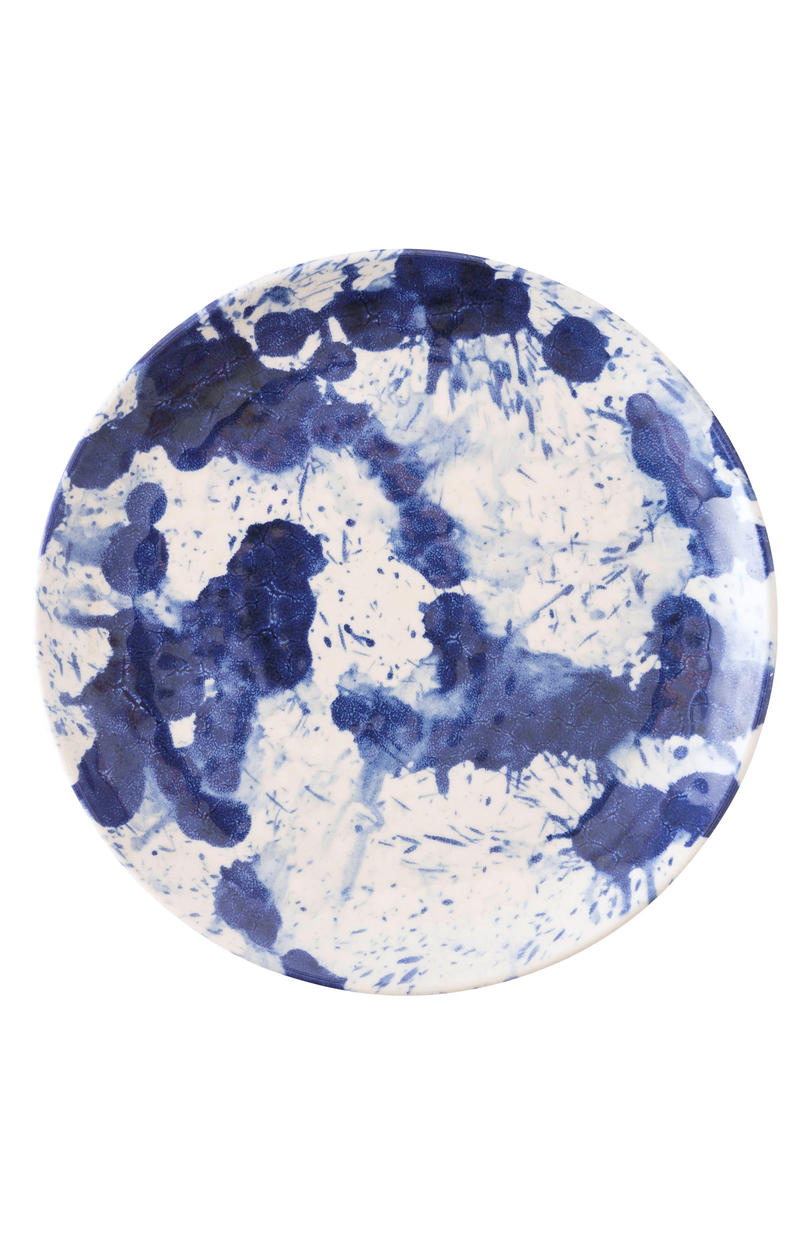 Juliska Splatter Spin Melamine Dessert Plate