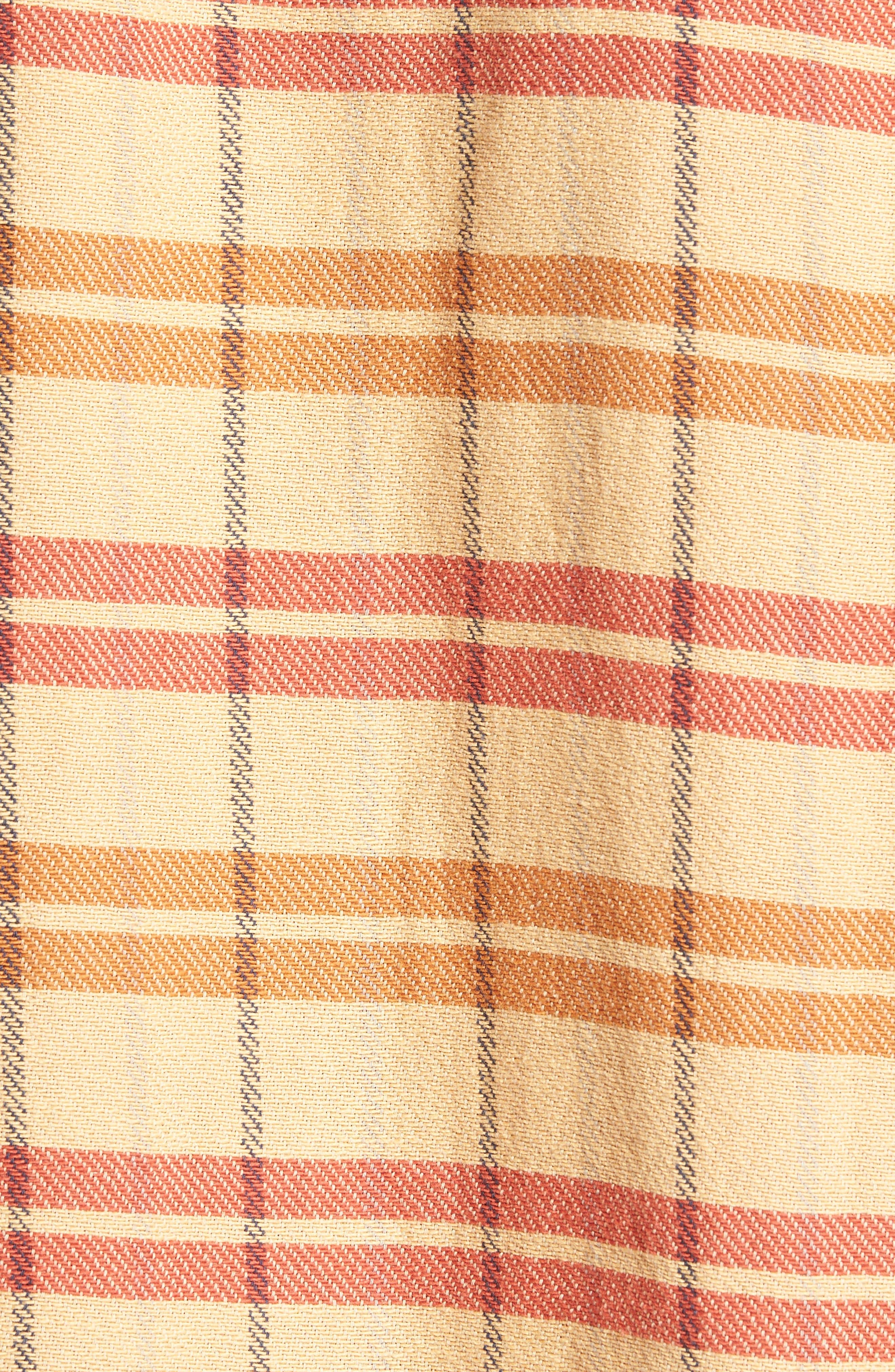 Shorthorn Western Shirt,                             Alternate thumbnail 5, color,                             Sunfaded Orange