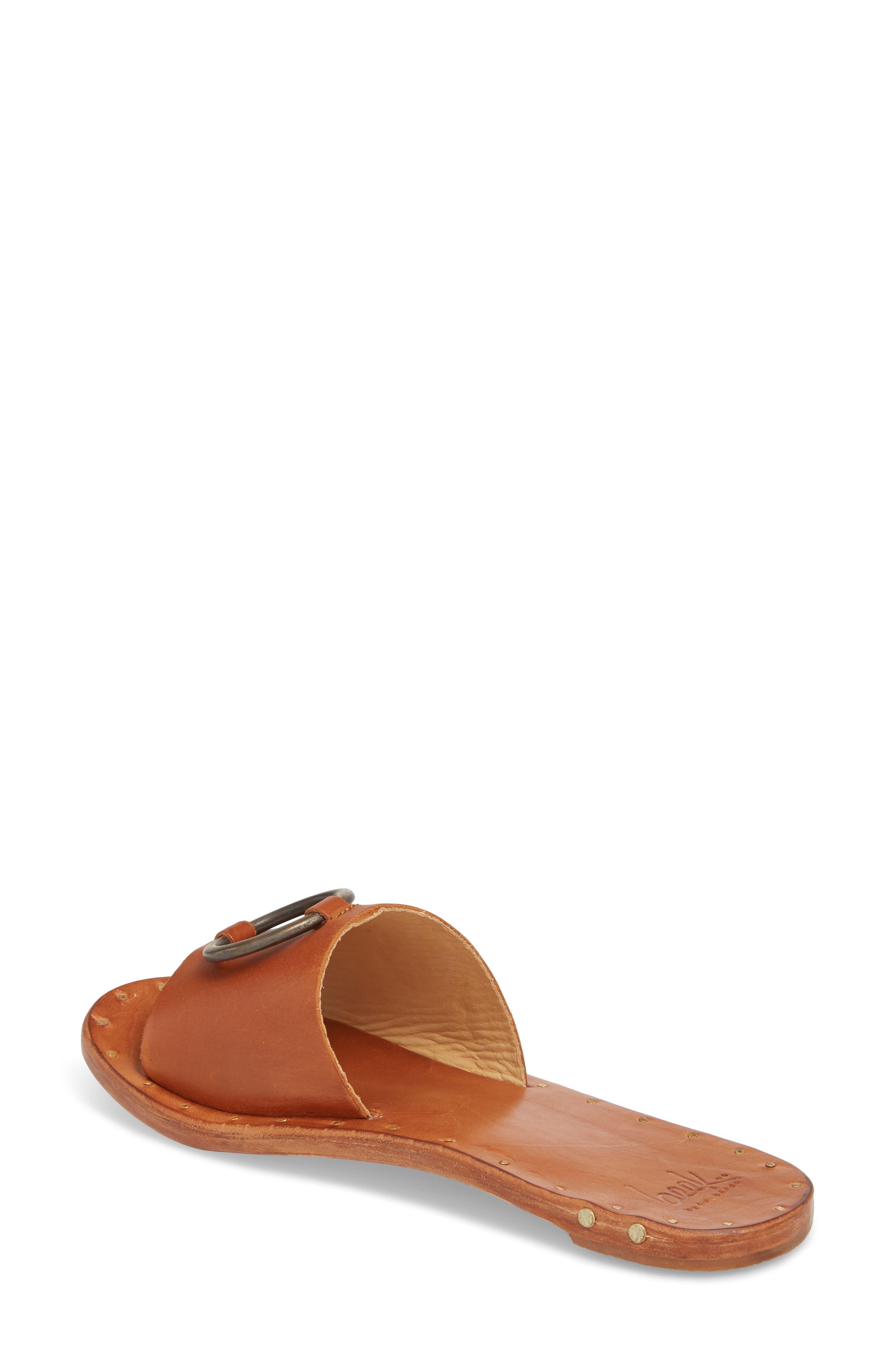 Cockatoo Slide Sandal,                             Alternate thumbnail 2, color,                             Tan/ Tan