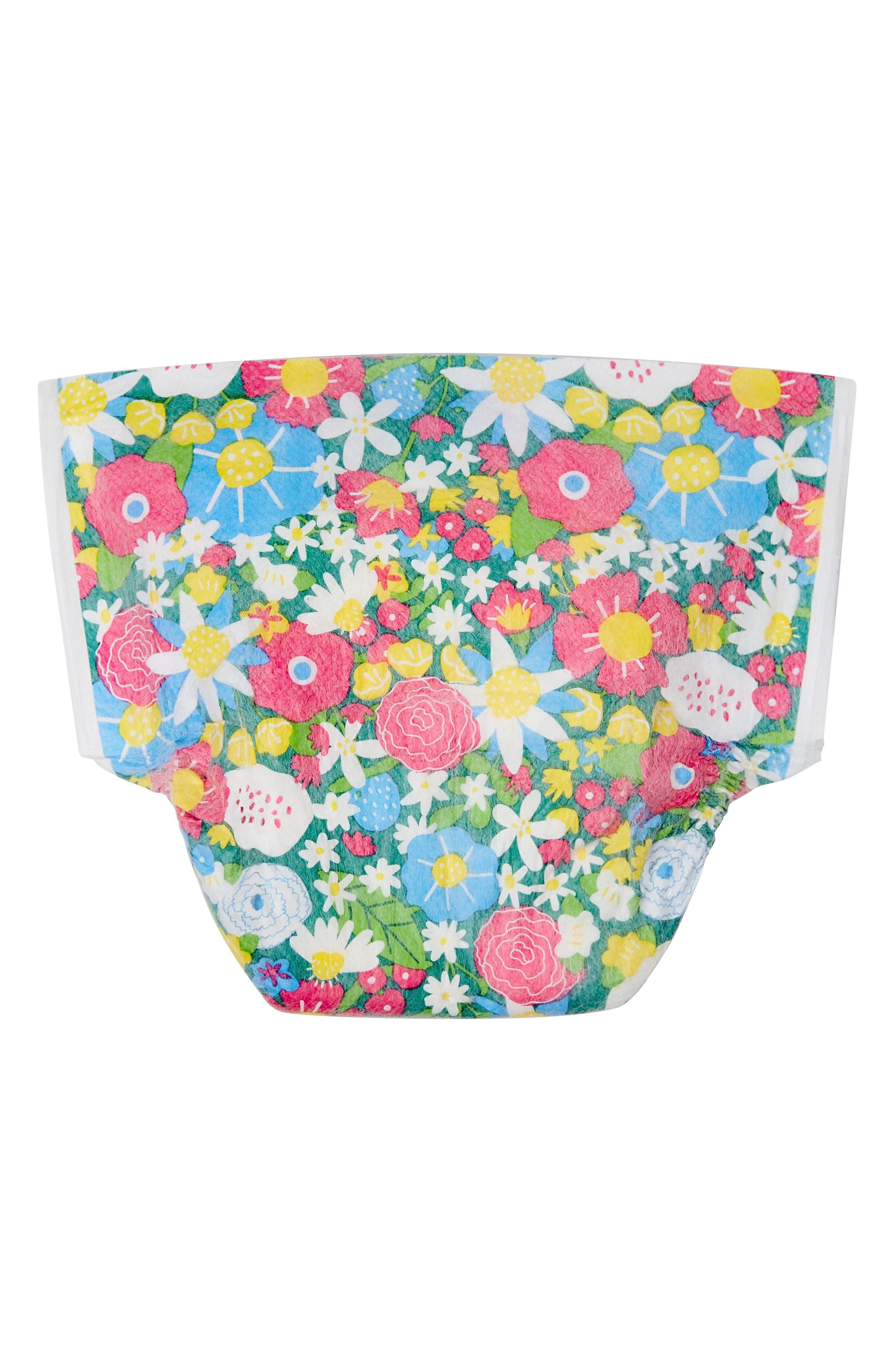 Flower Patch Diapers,                             Main thumbnail 1, color,                             Flower Patch