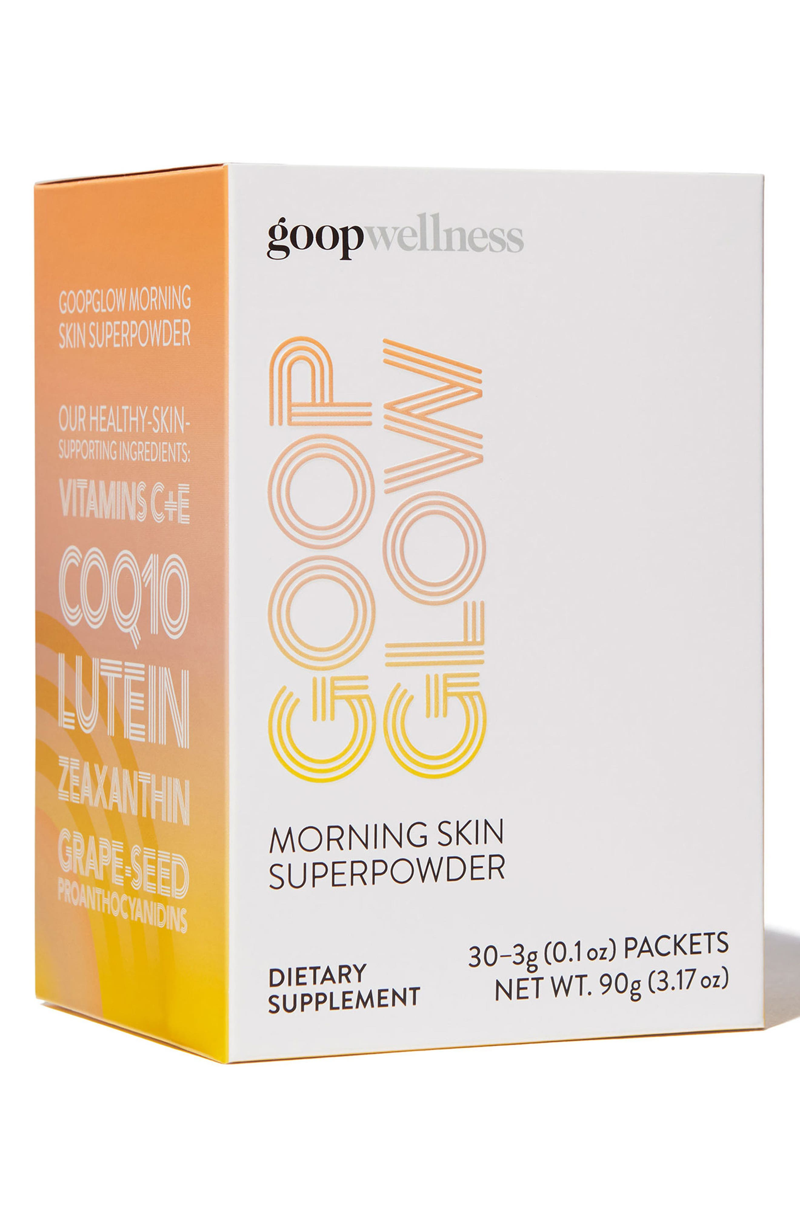 GOOPGLOW Morning Skin Superpowder Dietary Supplement,                             Alternate thumbnail 4, color,                             None