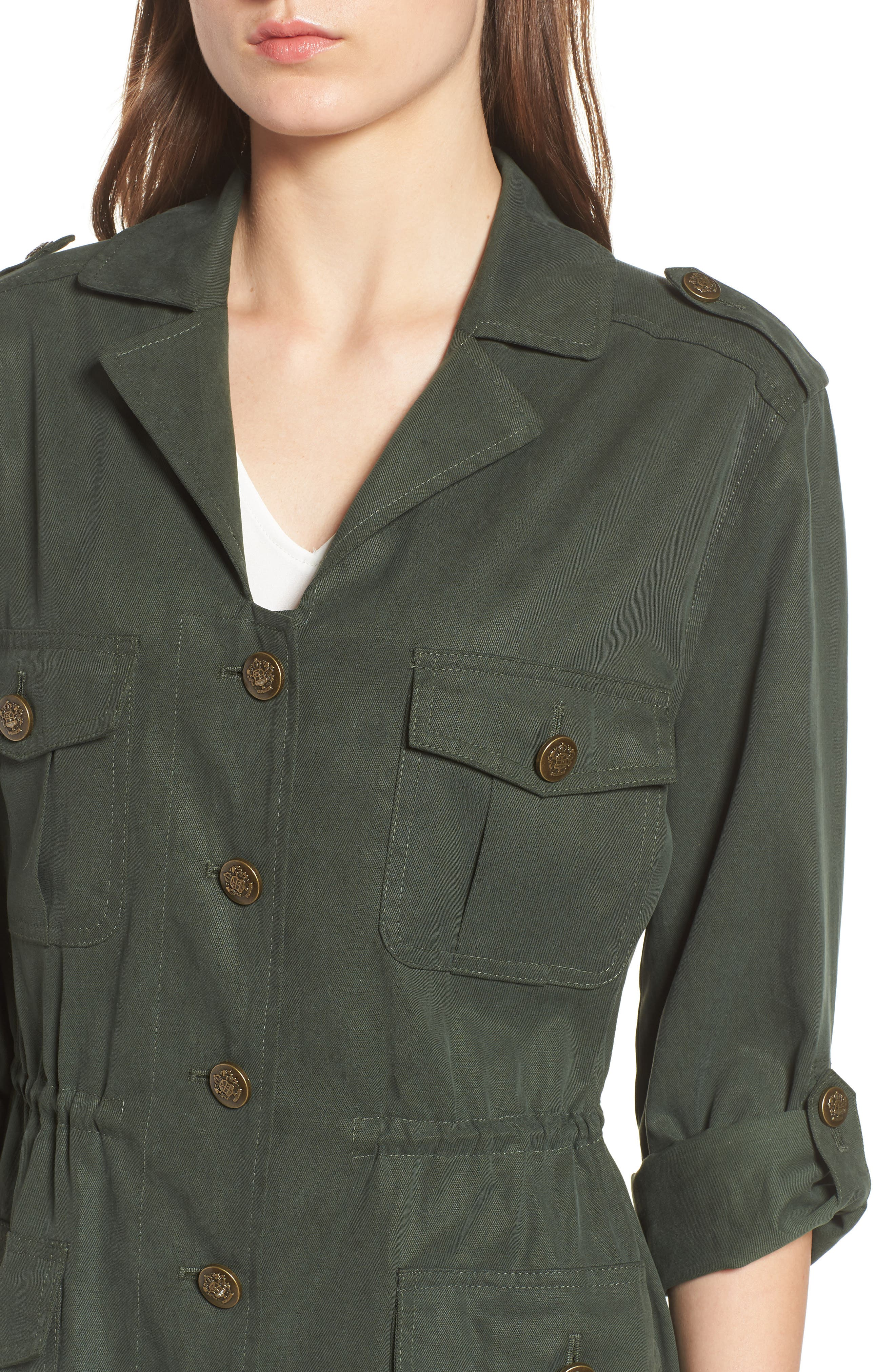 Brannen Military Jacket,                             Alternate thumbnail 4, color,                             Army