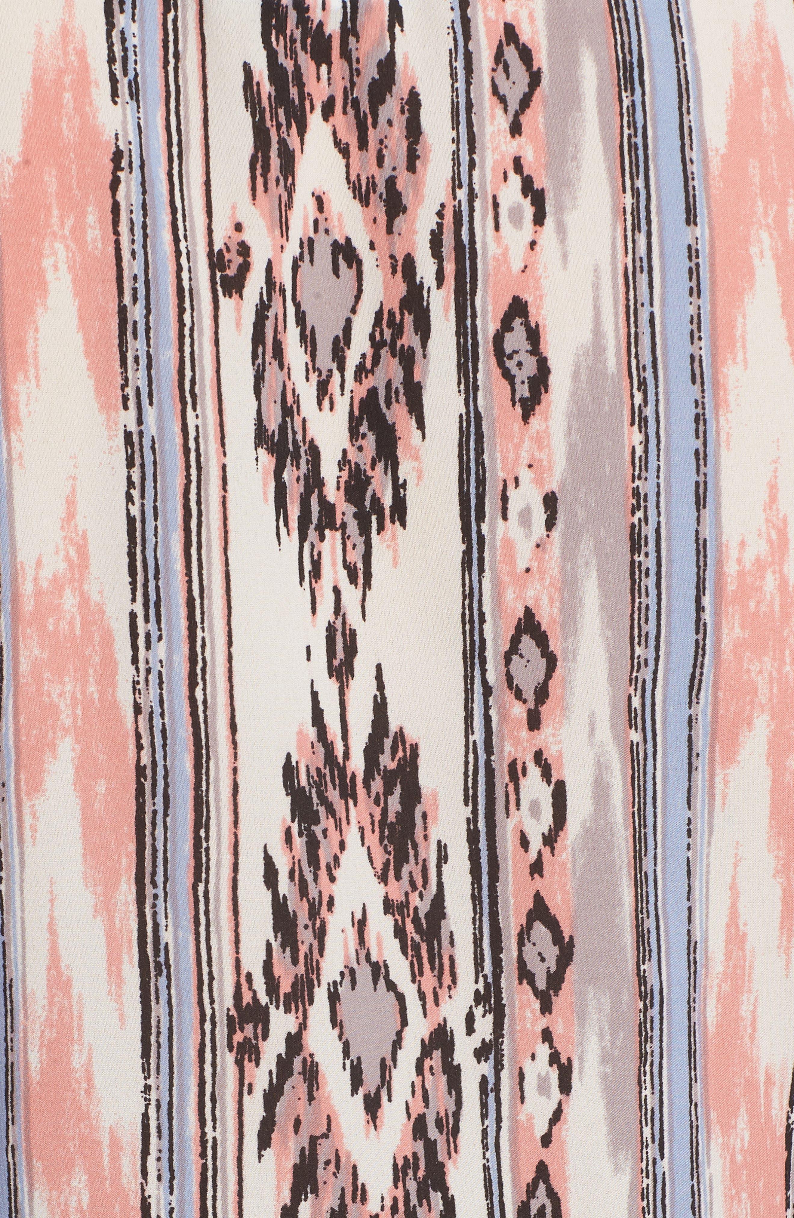 Adams Ruffled Sleeve Blouse,                             Alternate thumbnail 6, color,                             Multi