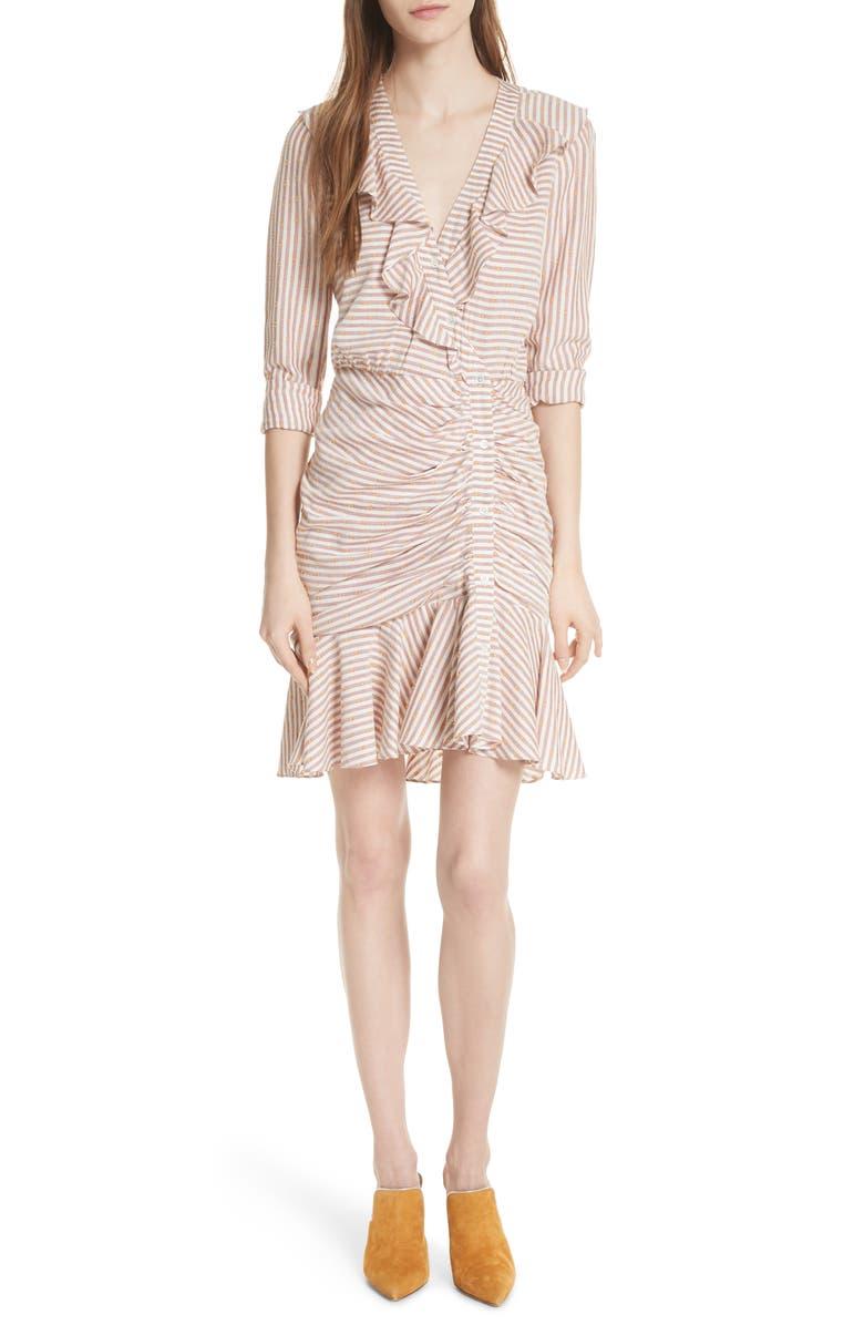 Kai Asymmetrical Button Dress