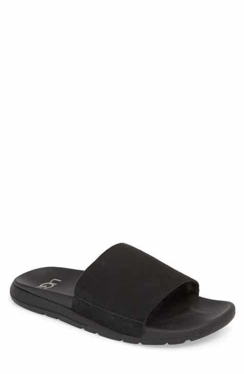 83722f44bdd2f UGG® Xavier TF Genuine Shearling Slide Sandal (Men)