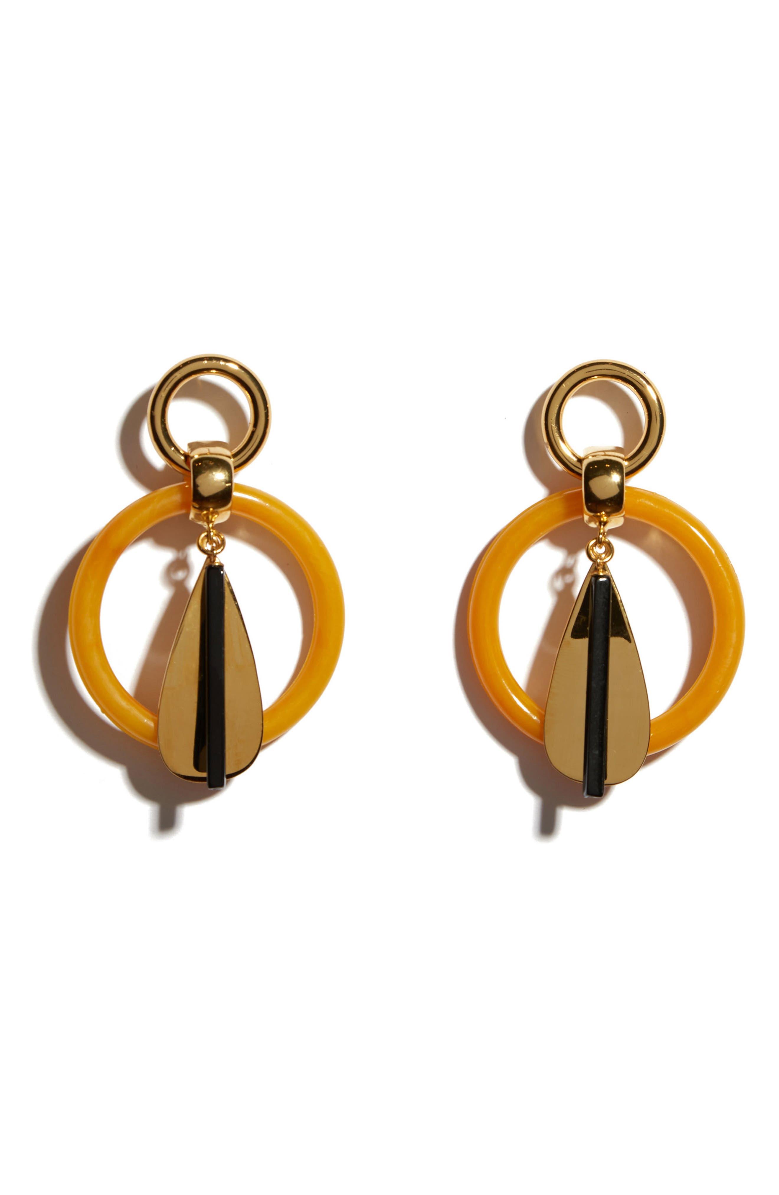 Amber Modern Earrings,                         Main,                         color, Multi