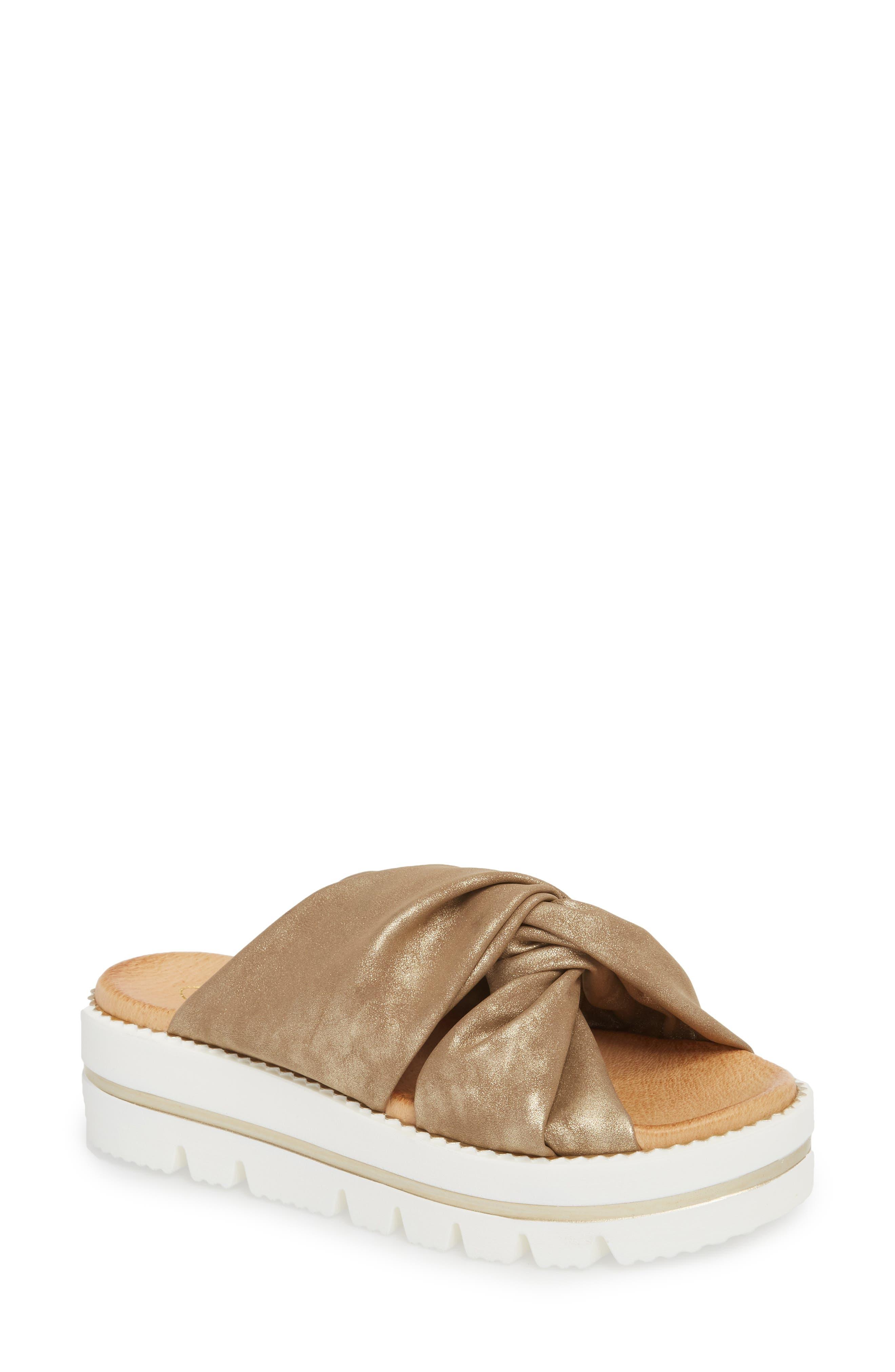 Sheridan Mia Sandy Platform Slide Sandal (Women)