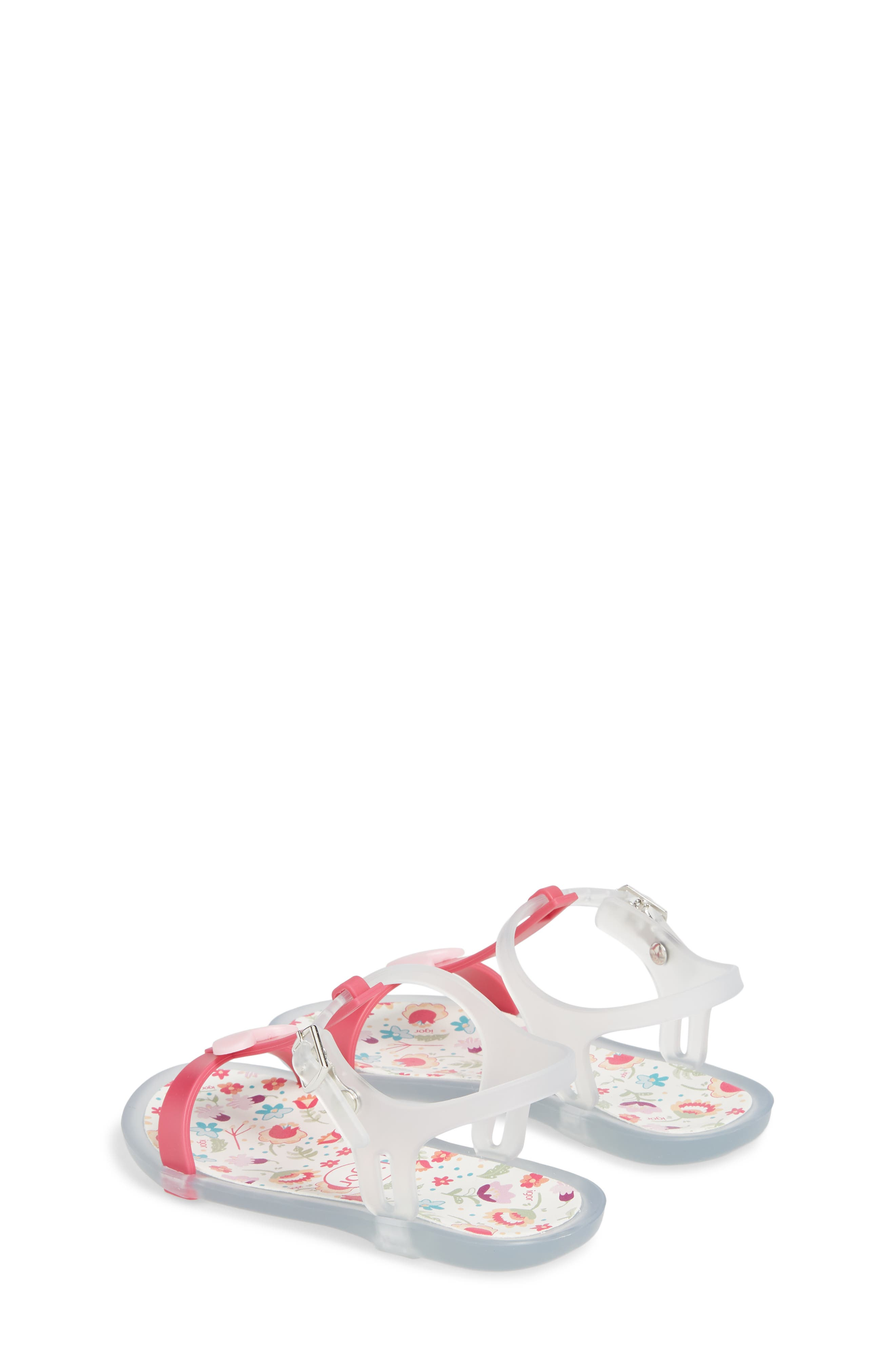 Tricia Cuore T-Strap Sandal,                             Alternate thumbnail 2, color,                             Fuchsia