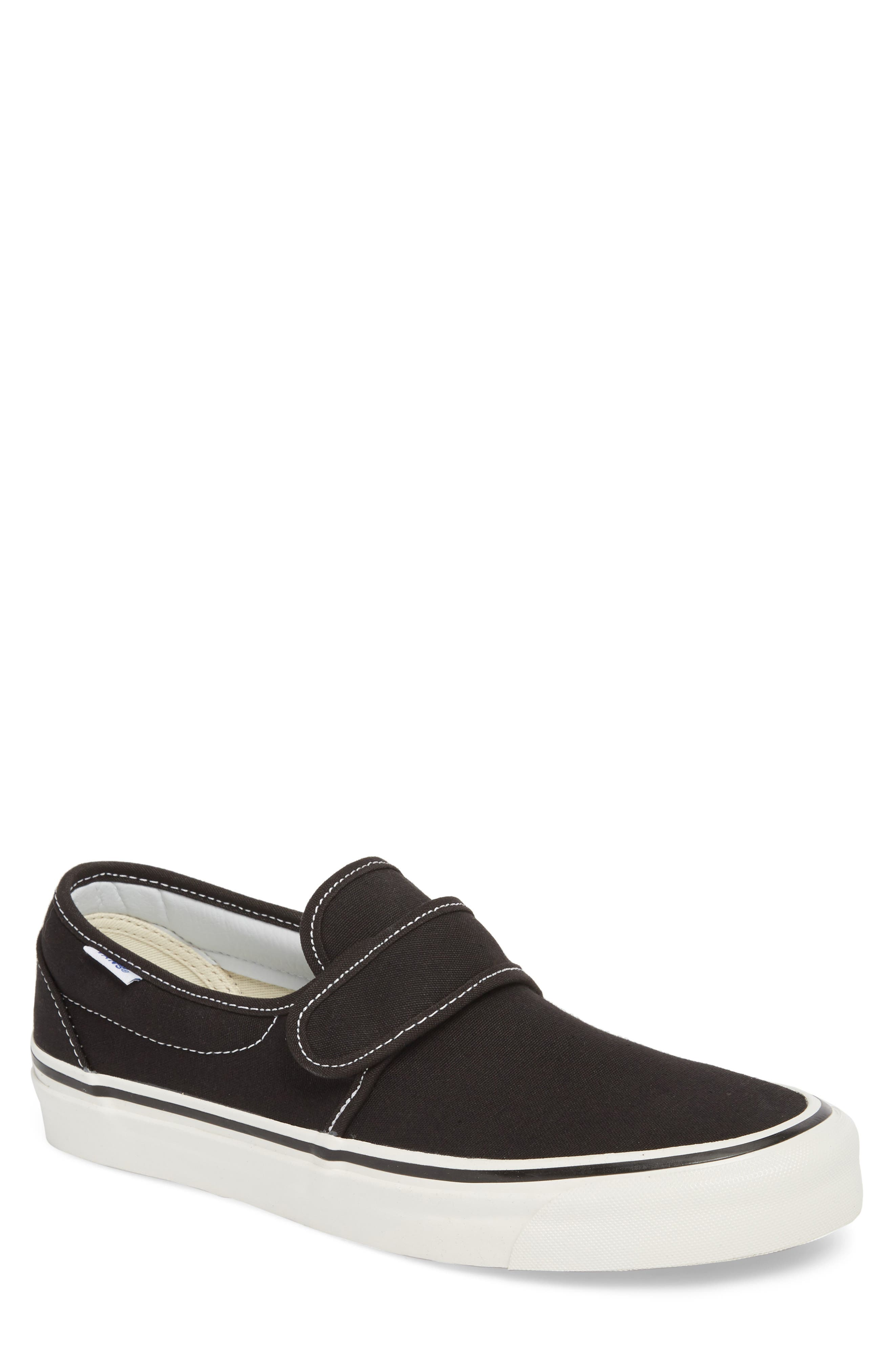Anaheim Factory Slip-On 47 DX Sneaker,                             Main thumbnail 1, color,                             Black