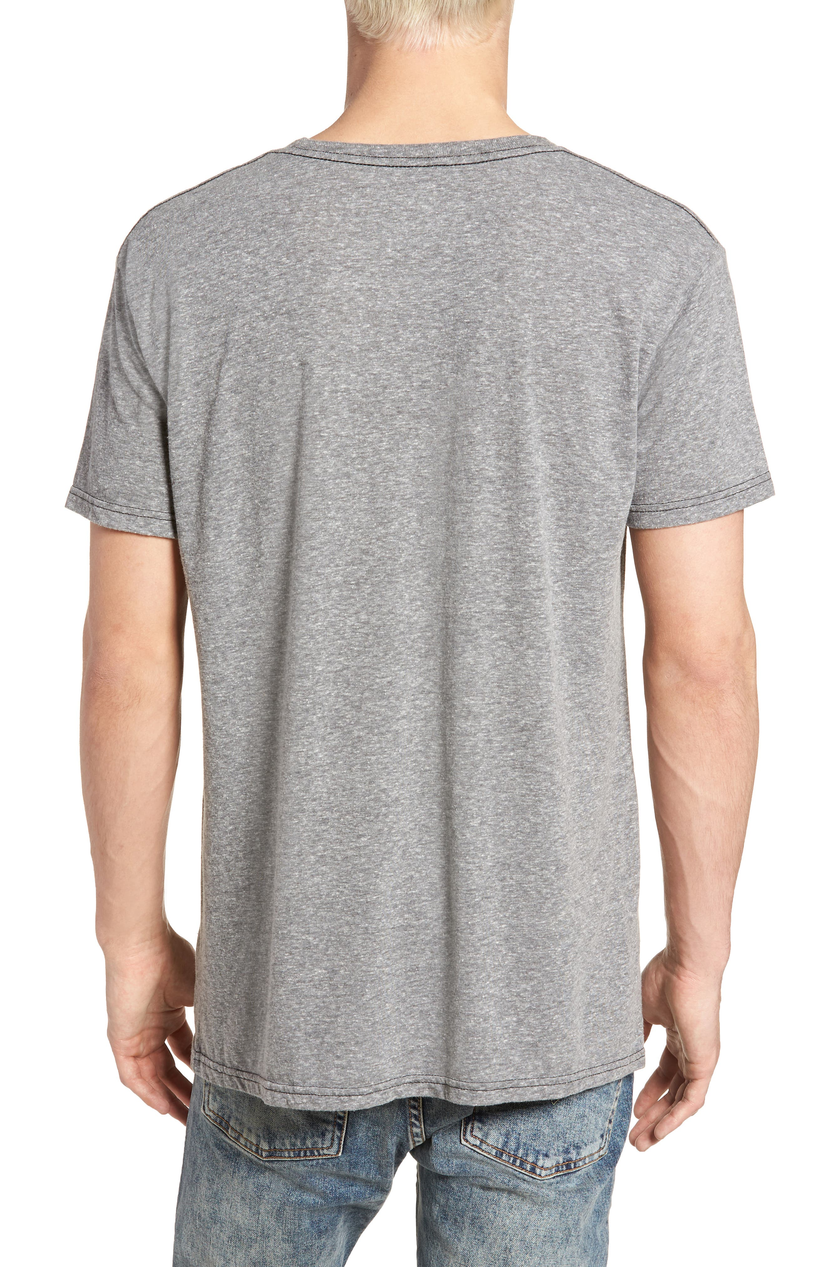 Original Retro Brand Silver Bullet Graphic T-Shirt,                             Alternate thumbnail 2, color,                             Streaky Grey
