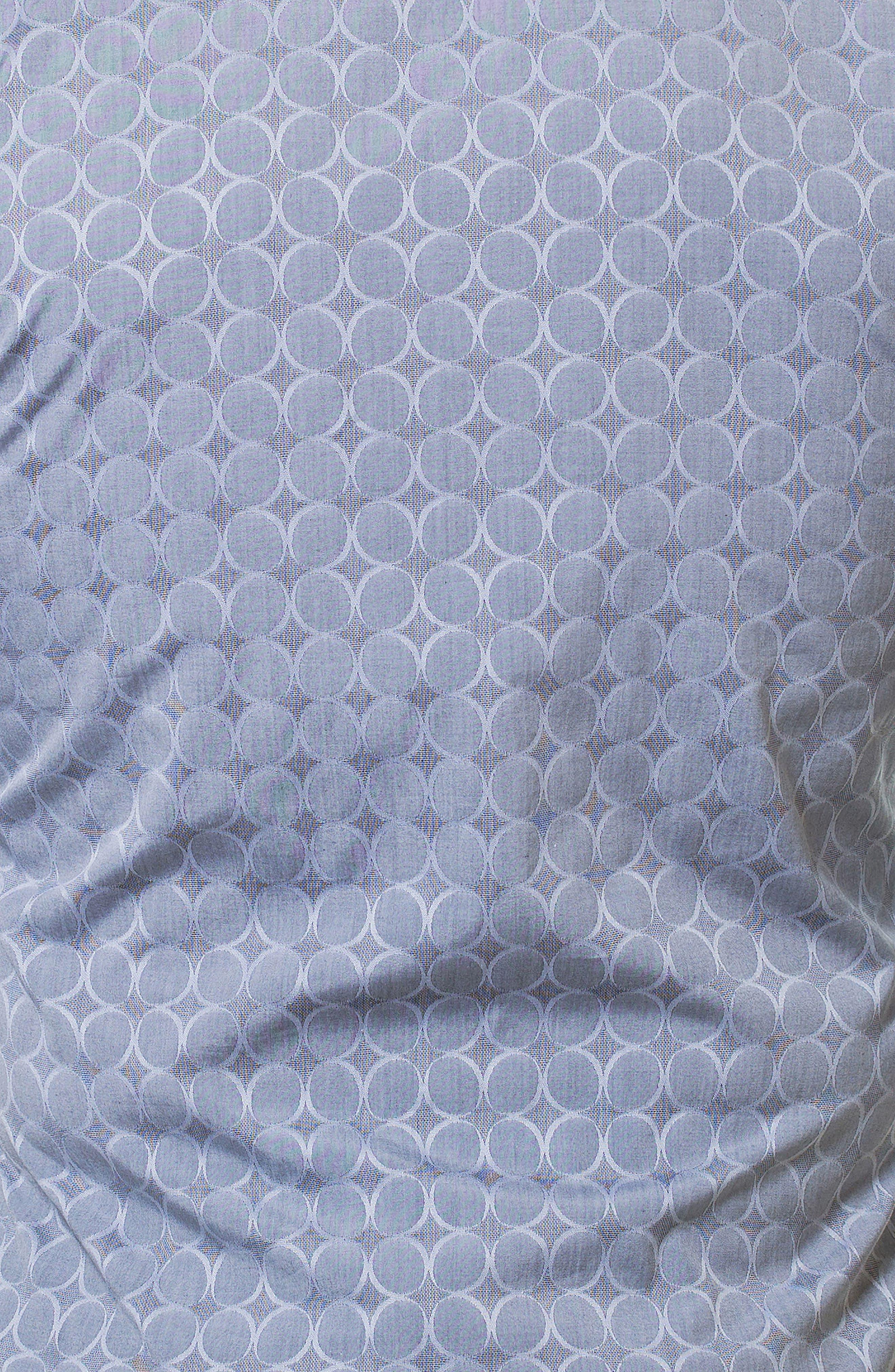 Wall Street Bond Grey Slim Fit Sport Shirt,                             Alternate thumbnail 4, color,                             Grey