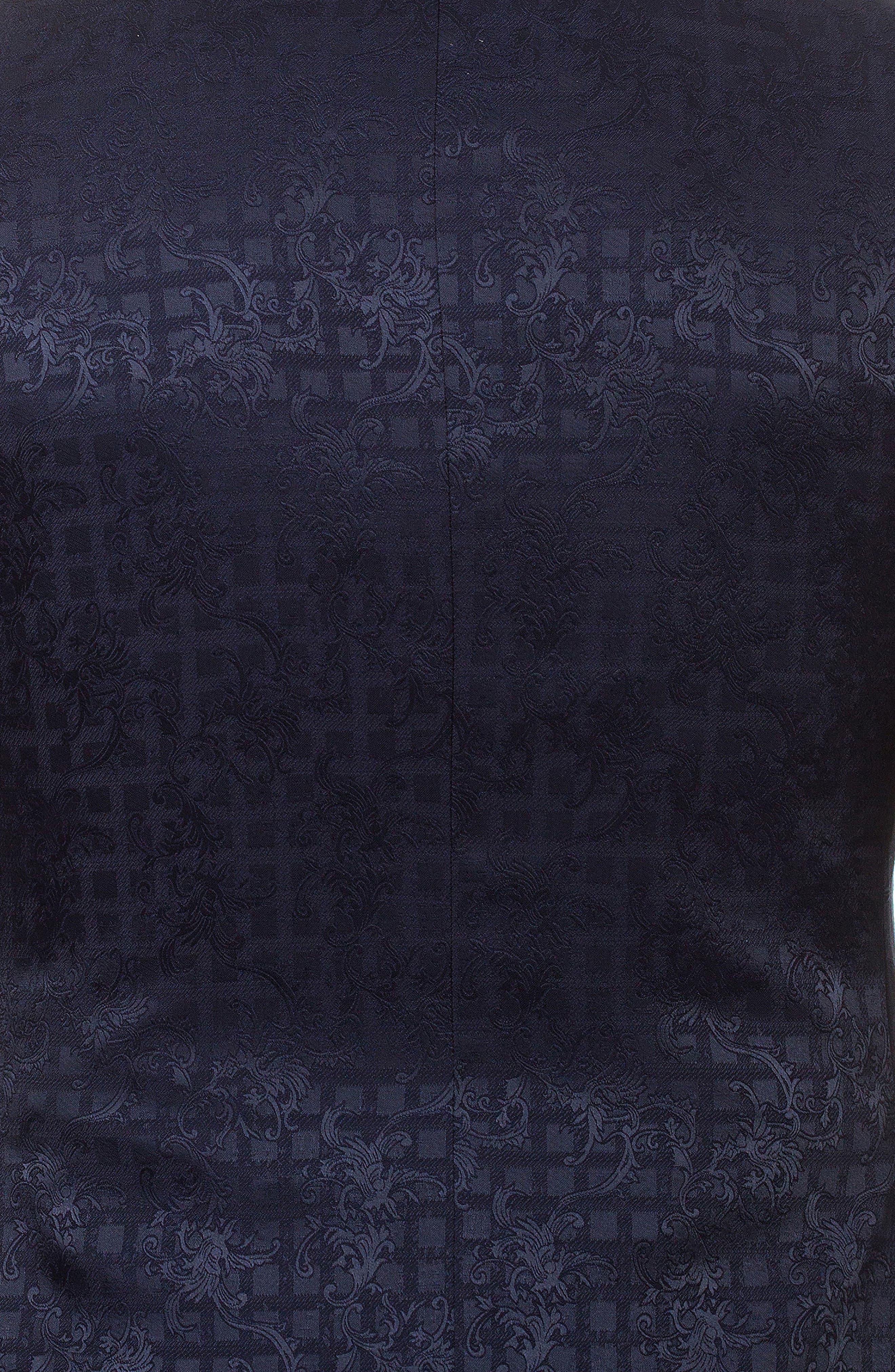 Socrate Cabriole Sport Coat,                             Alternate thumbnail 5, color,                             Black