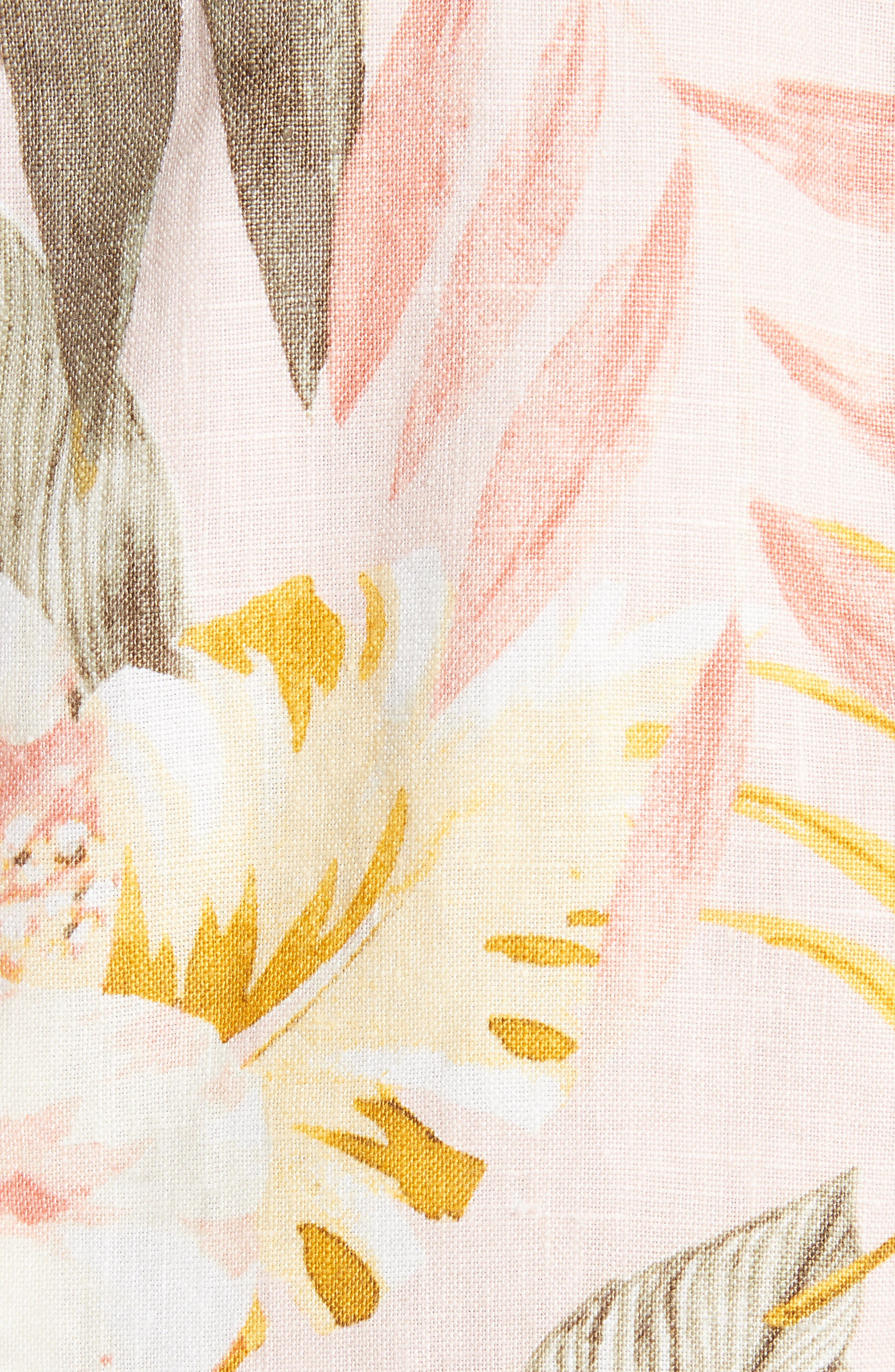 KIshina B Floral Jacket,                             Alternate thumbnail 7, color,                             Dusty Nude