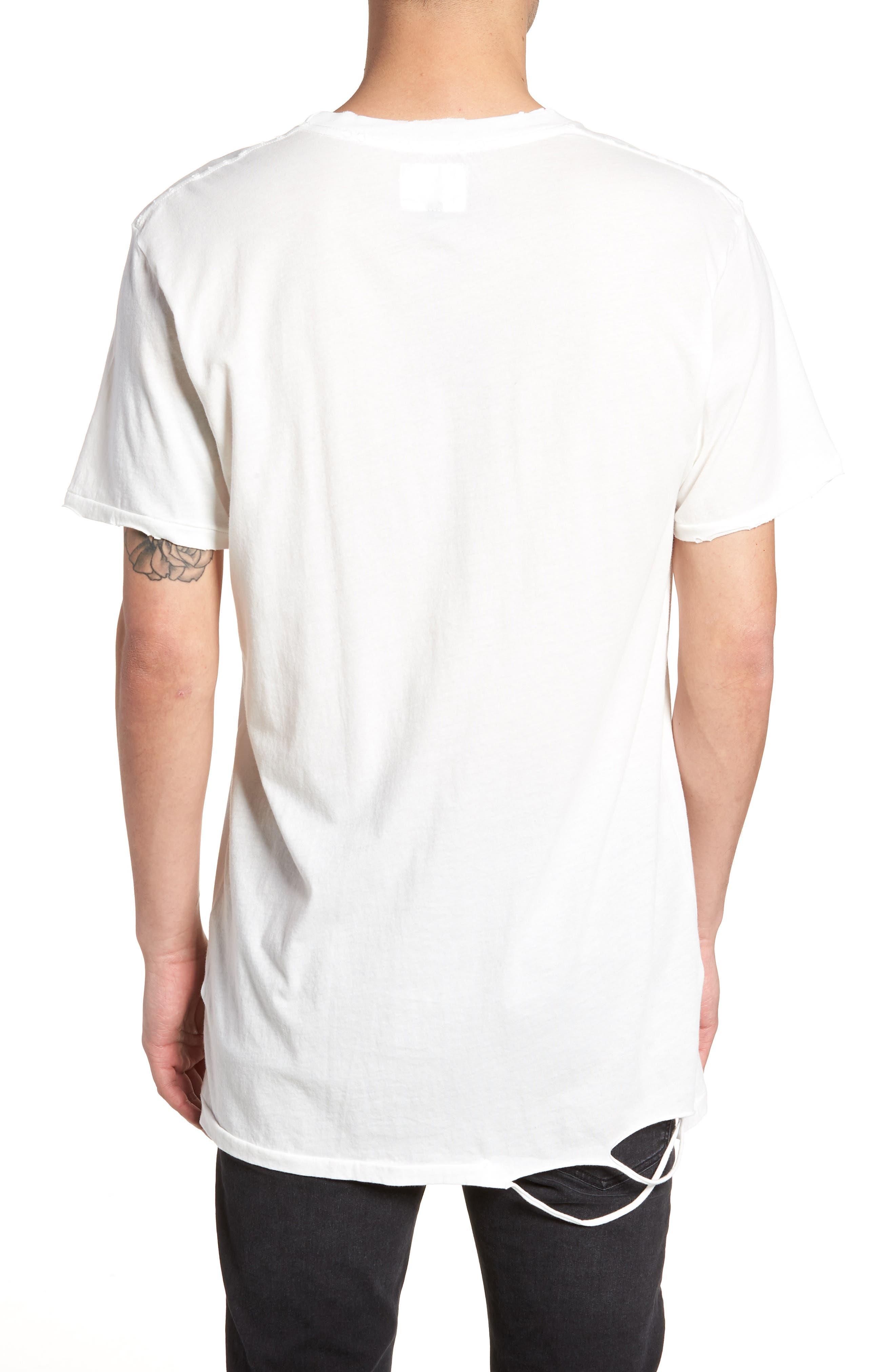 Logo Moth T-Shirt,                             Alternate thumbnail 2, color,                             Off White