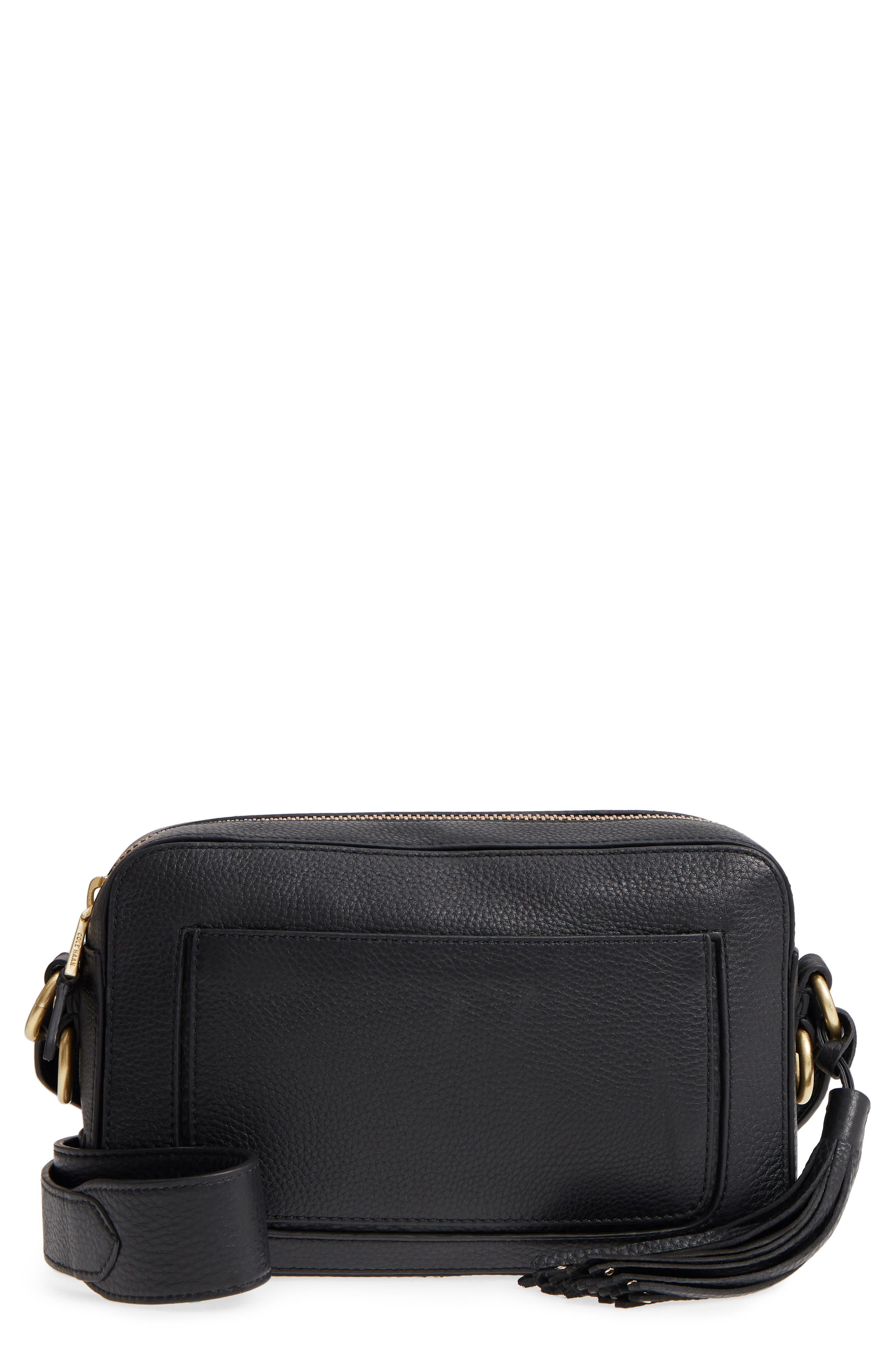 Cole Haan Cassidy RFID Pebbled Leather Camera Bag