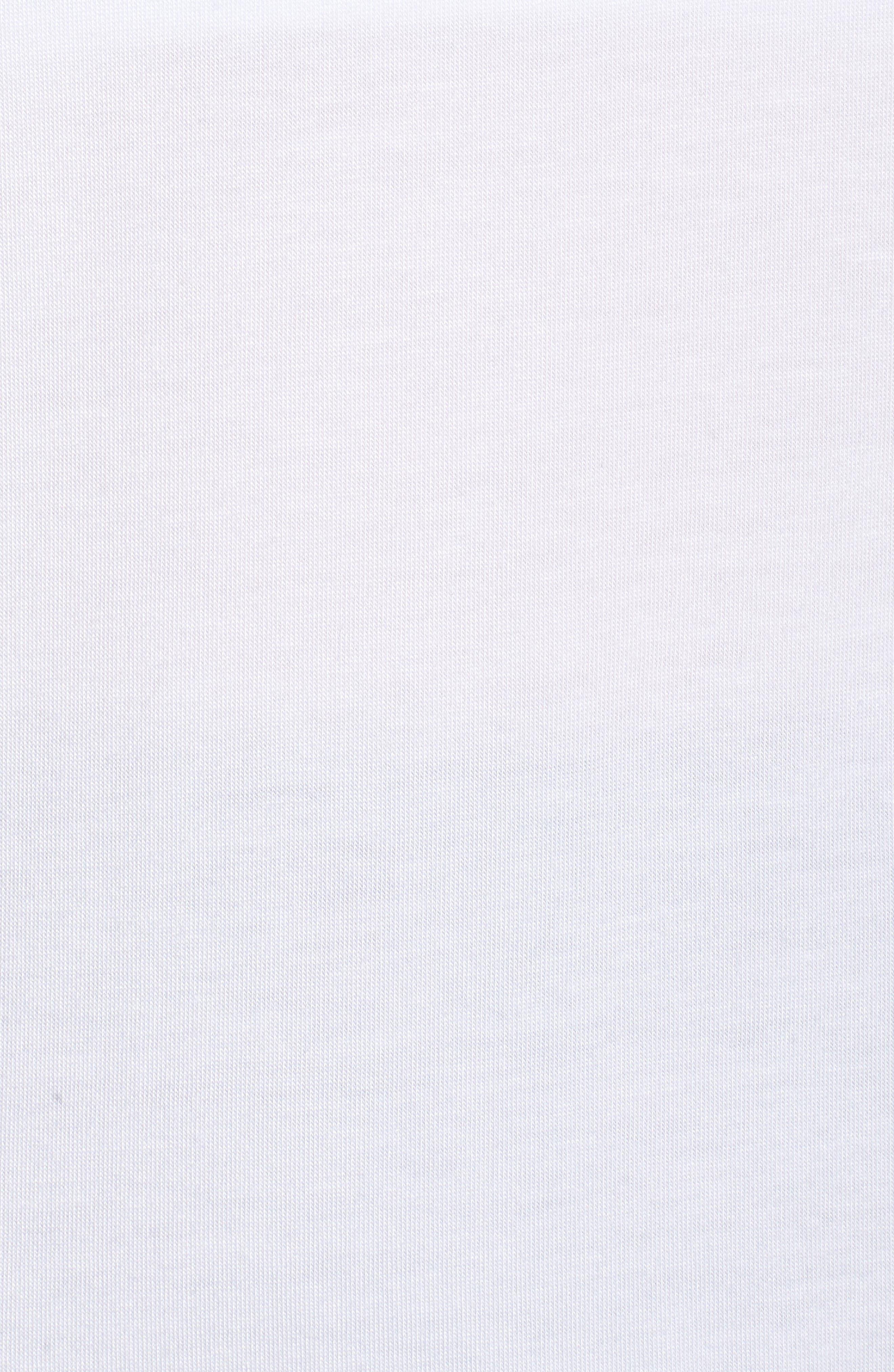 Full Transparency Tunic,                             Alternate thumbnail 6, color,                             White