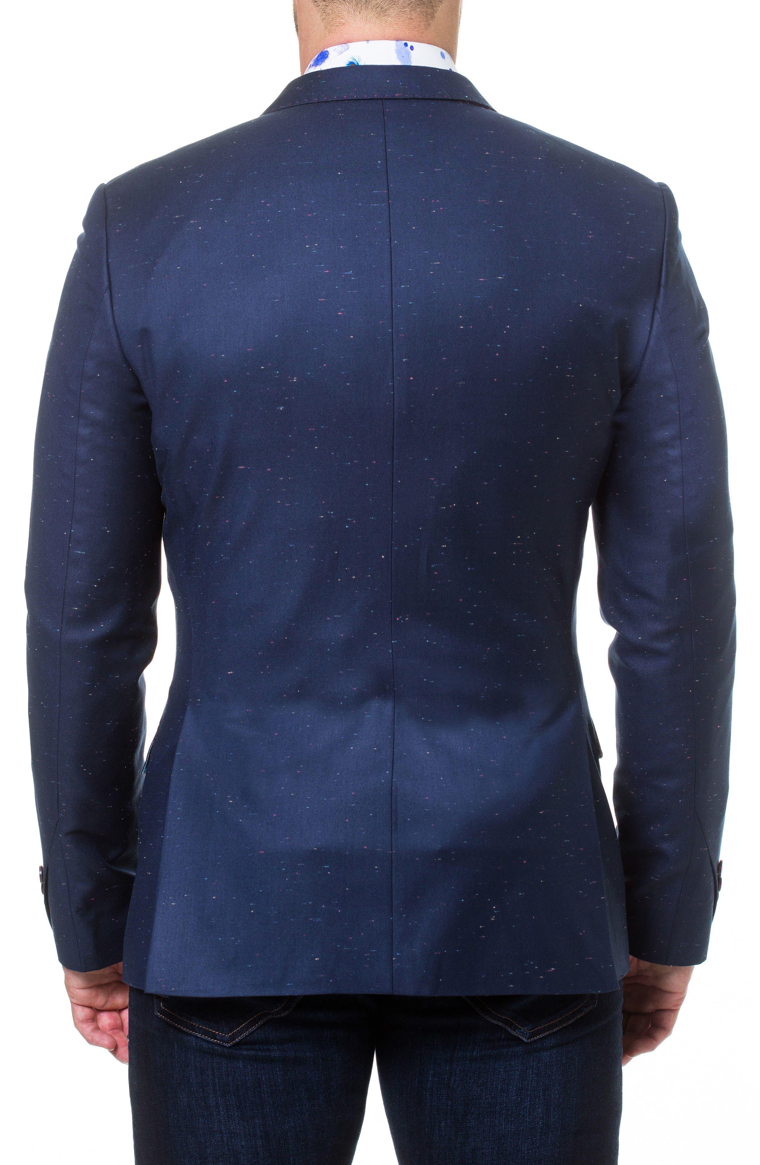 Descartes Sprinkle Linen & Cotton Blend Sport Coat,                             Alternate thumbnail 2, color,                             Blue