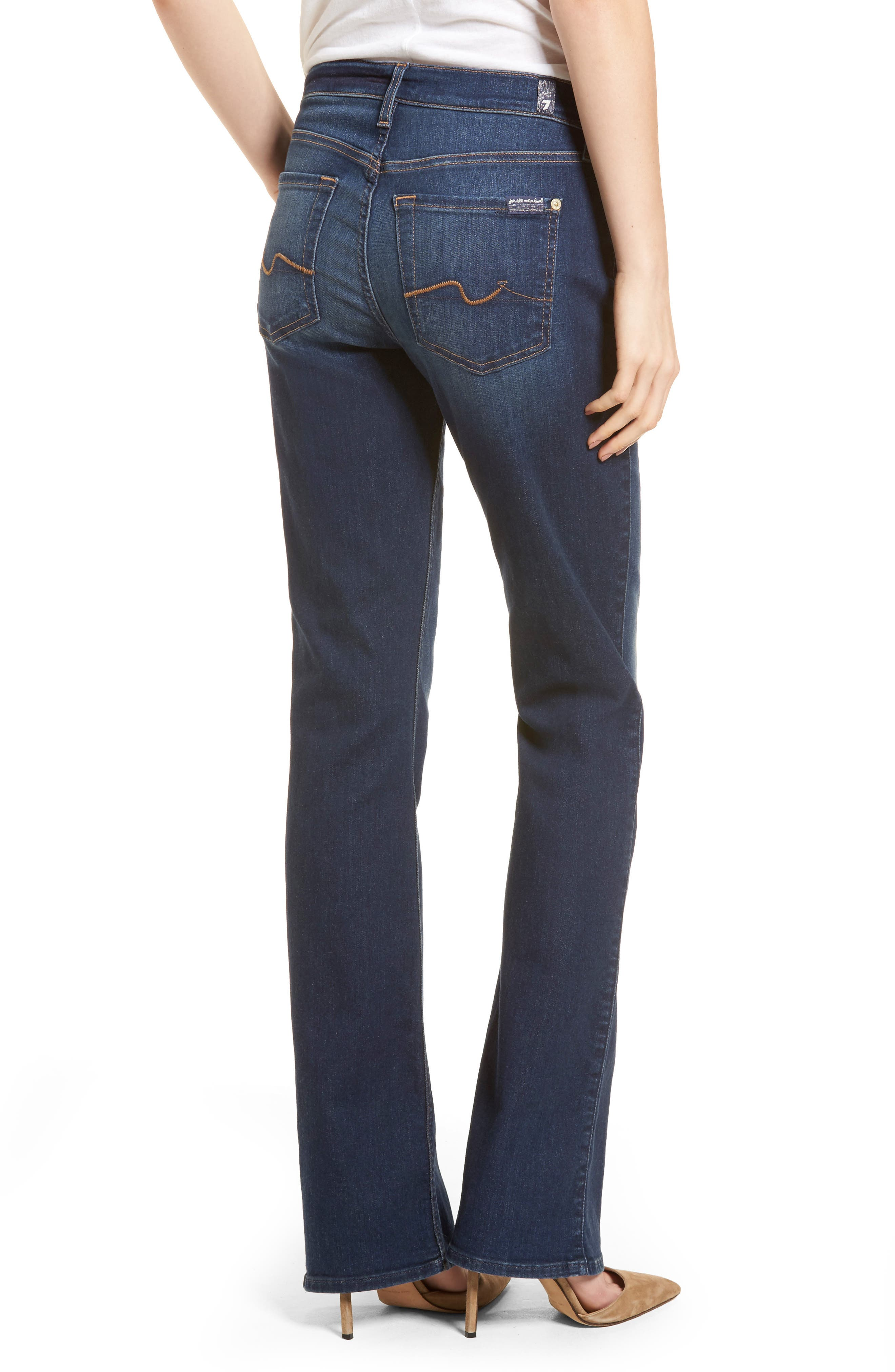Iconic Bootcut Jeans,                             Alternate thumbnail 2, color,                             Moreno