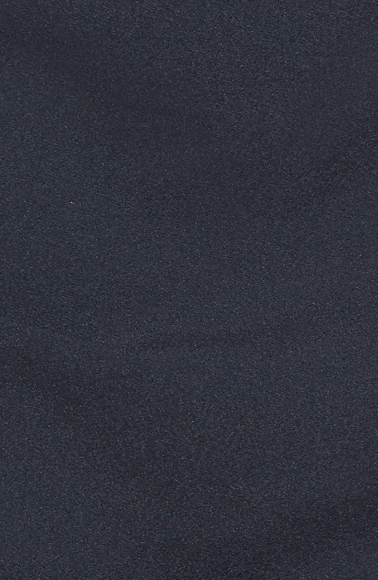 Side Shirred Skirt,                             Alternate thumbnail 5, color,                             Navy Sapphire