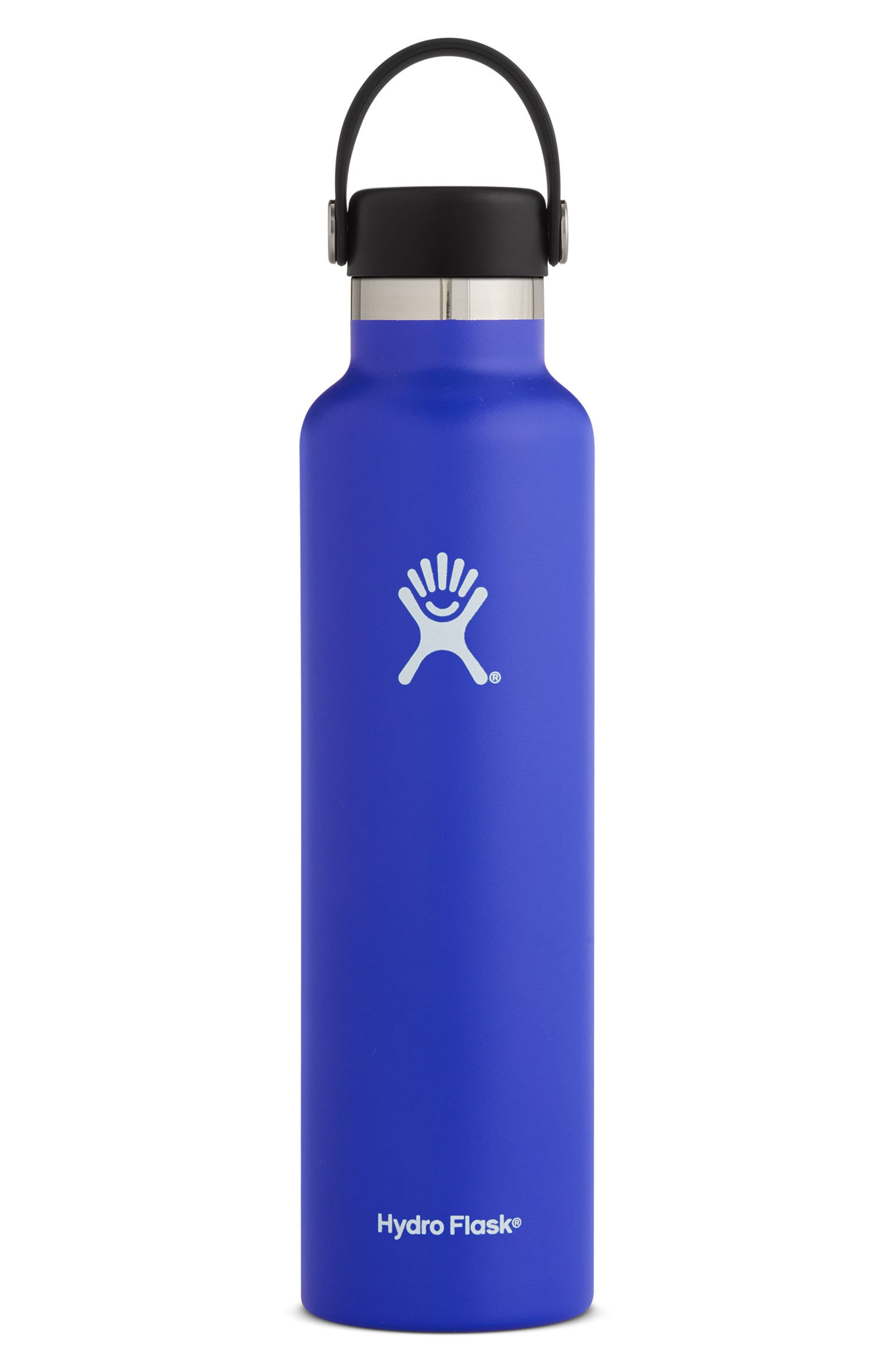 24-Ounce Standard Mouth Bottle,                         Main,                         color, Blueberry