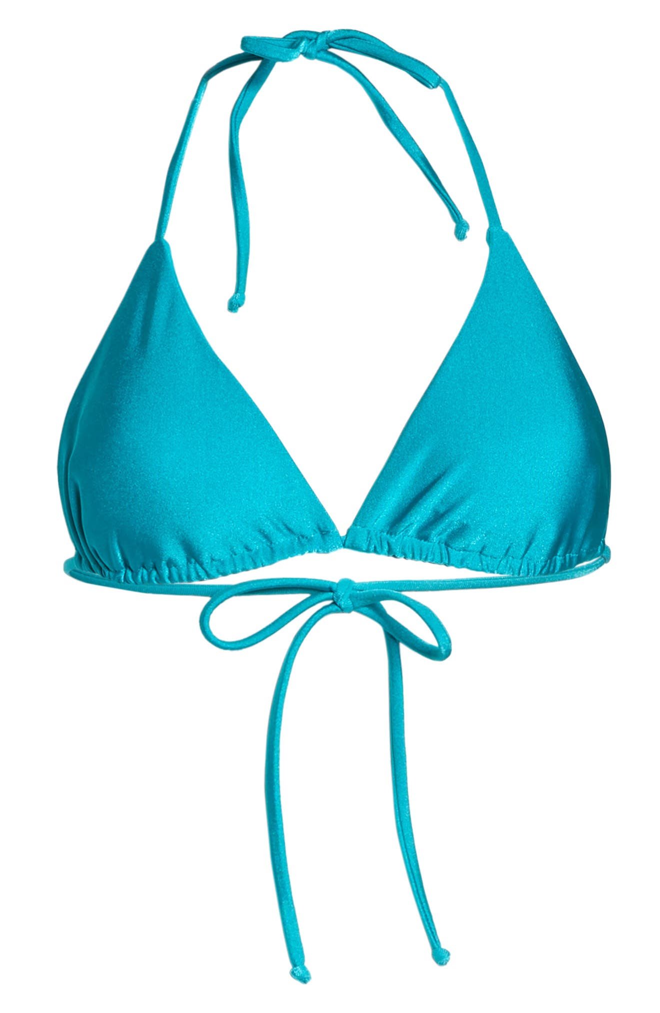 Shimmer Triangle Bikini Top,                             Alternate thumbnail 9, color,                             Arcadia