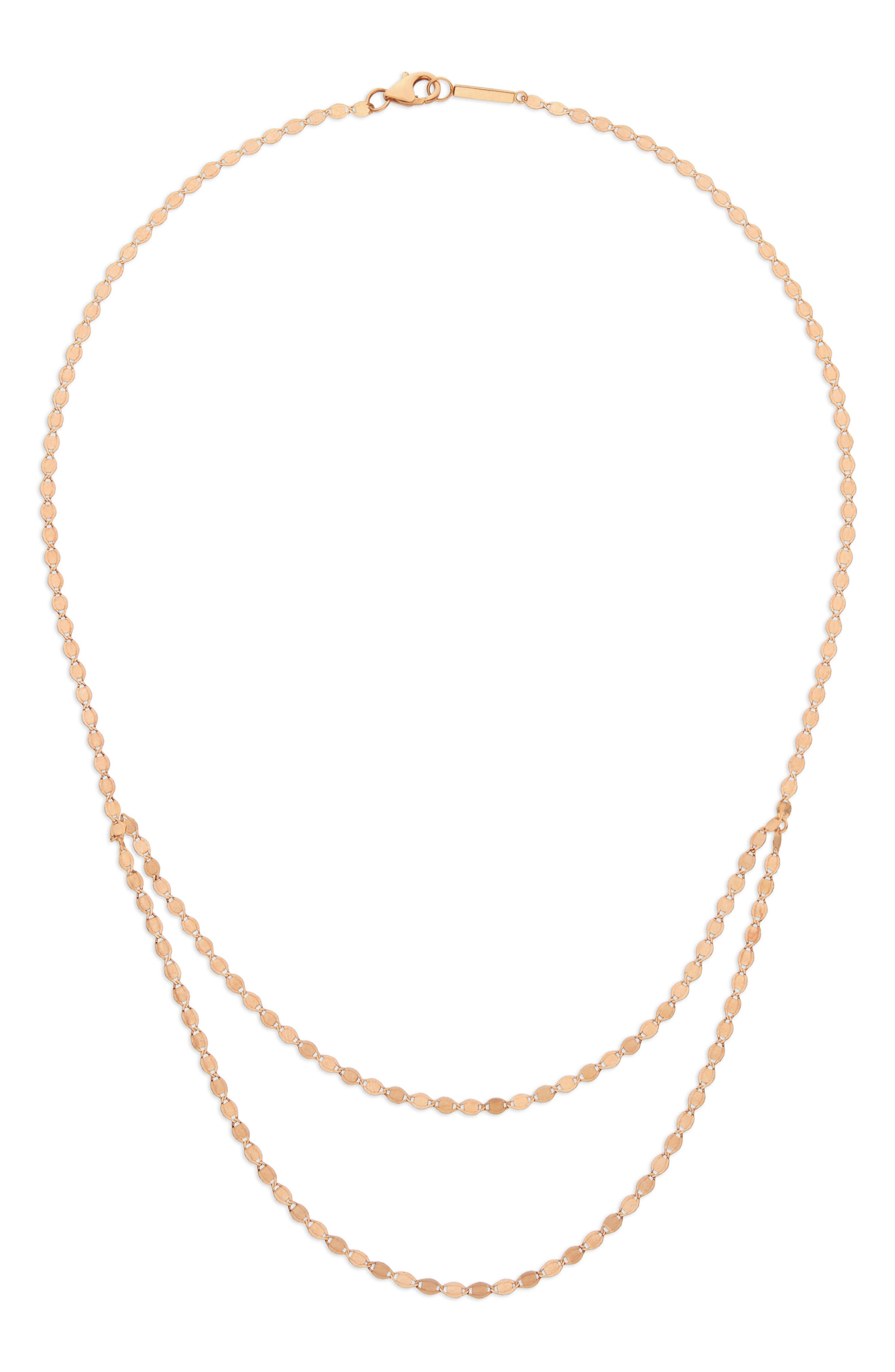 Lana Jewelry Blake Double Layer Long Necklace