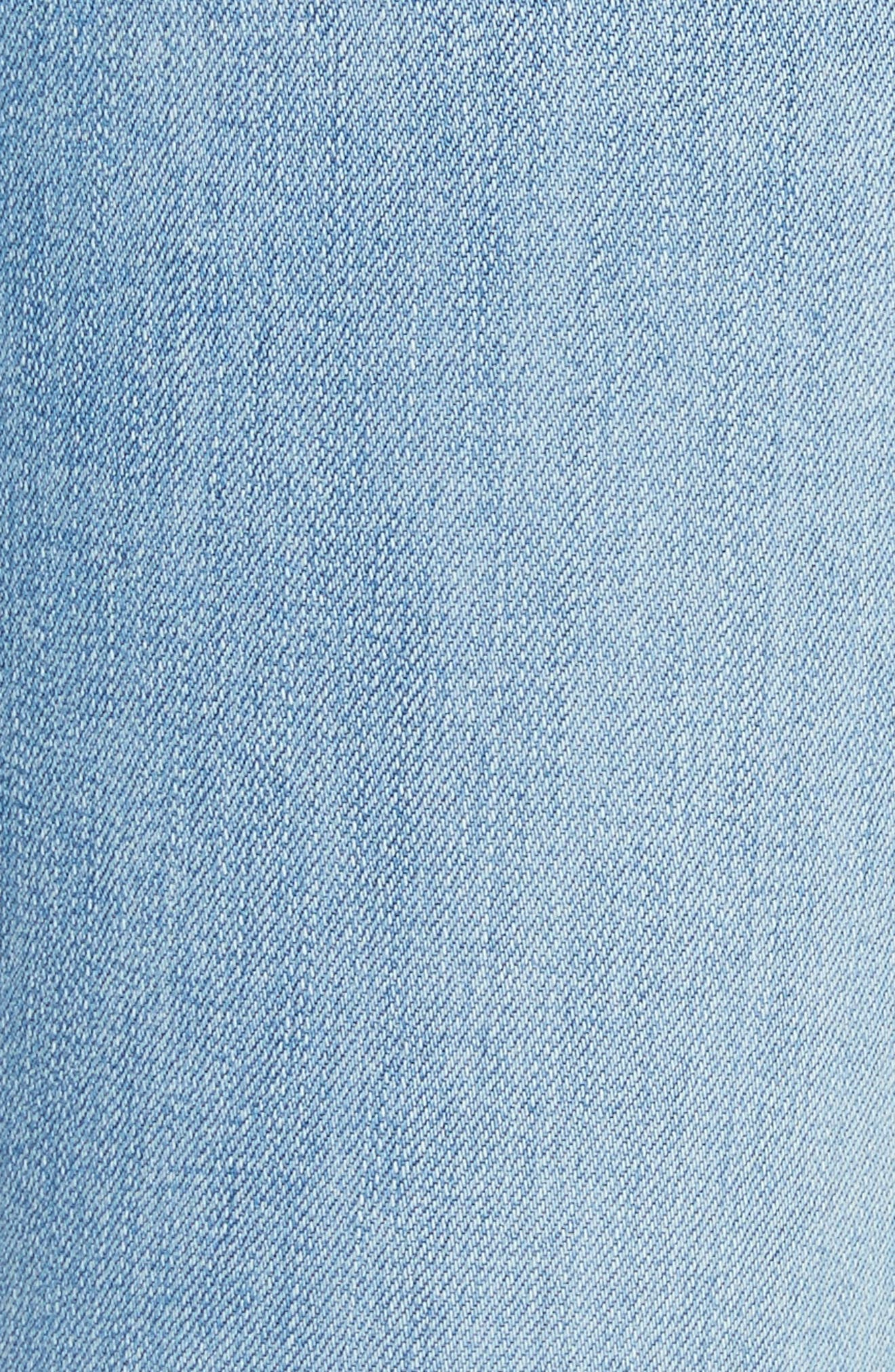 W4 Colette Crop Skinny Jeans,                             Alternate thumbnail 5, color,                             Carlo