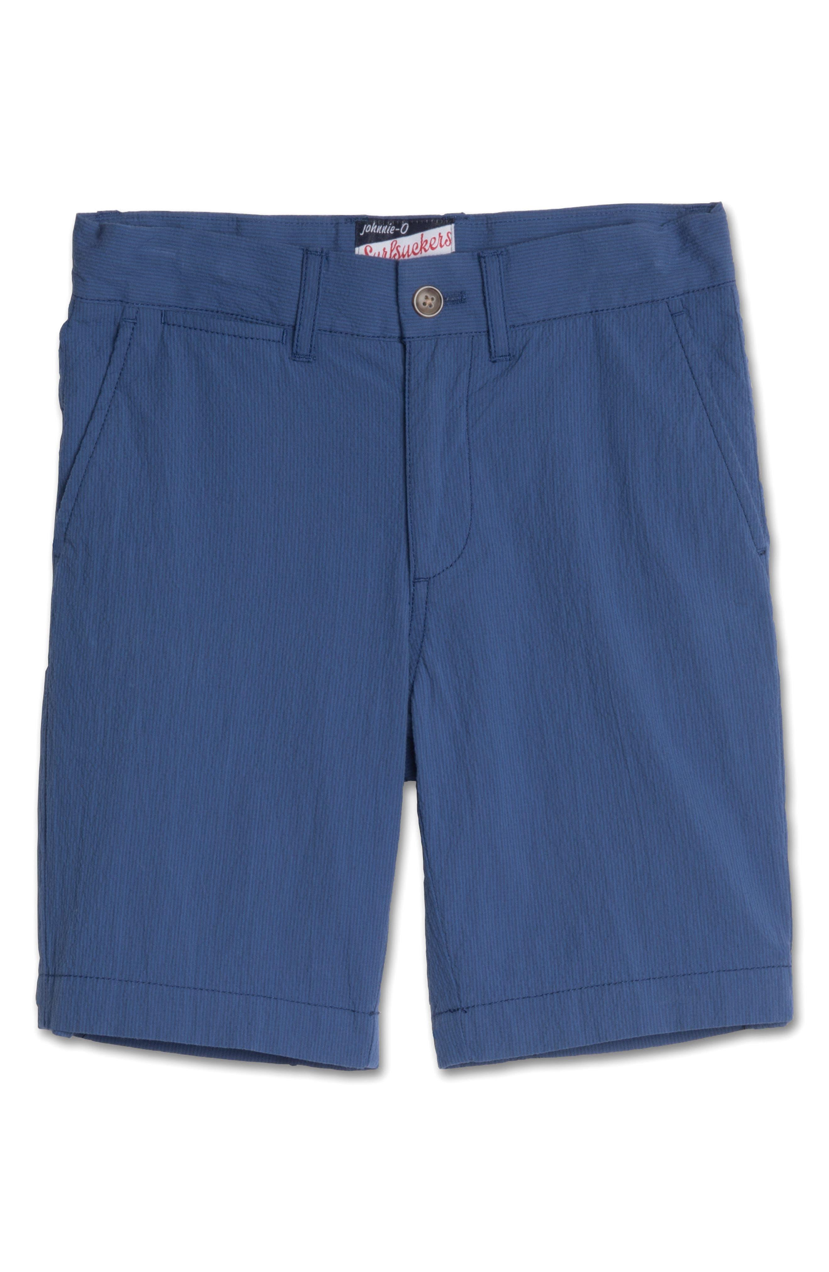 Bryson Seersucker Shorts,                             Main thumbnail 1, color,                             Ripple