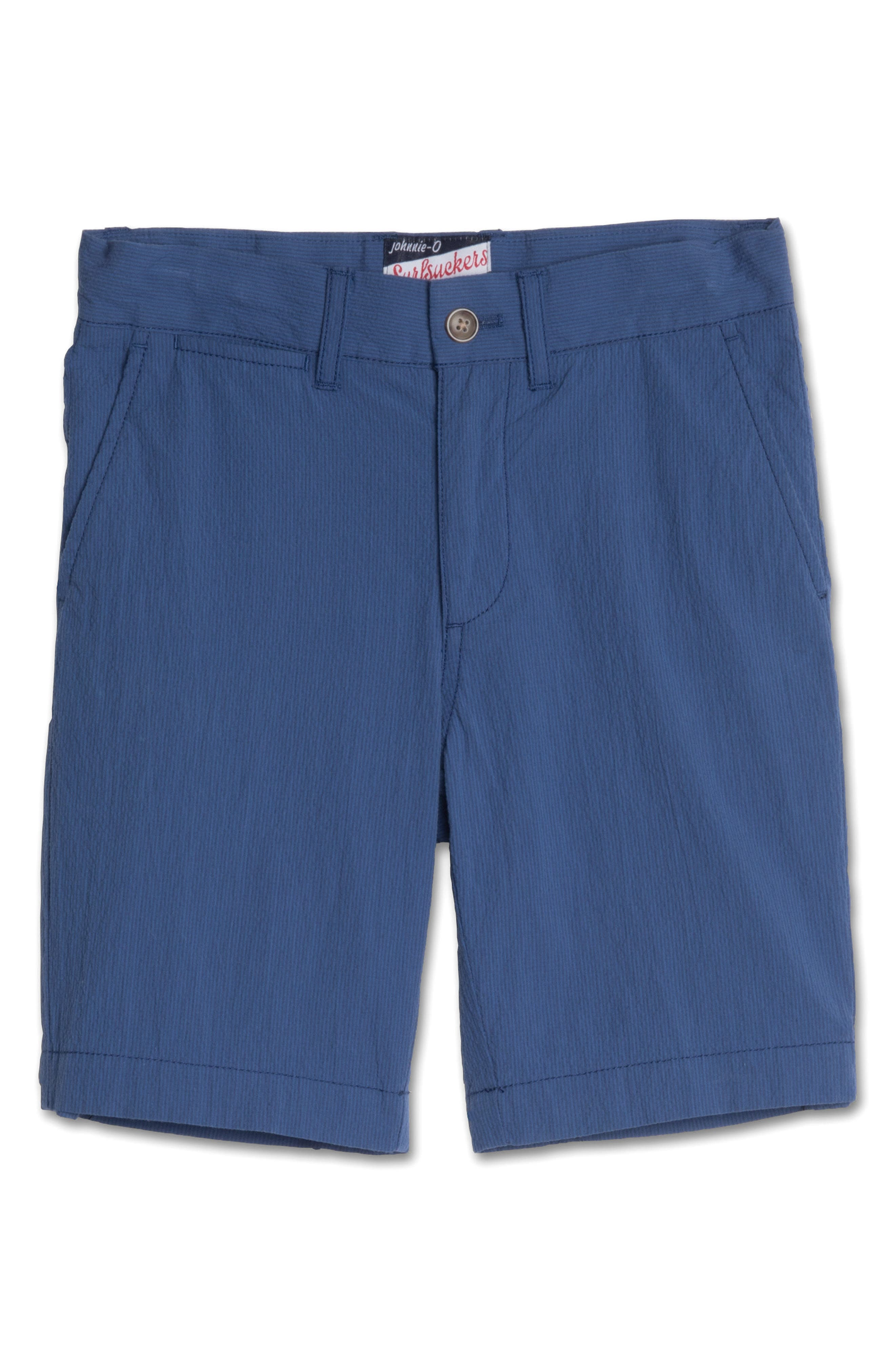 johnnie-o Bryson Seersucker Shorts (Big Boys)
