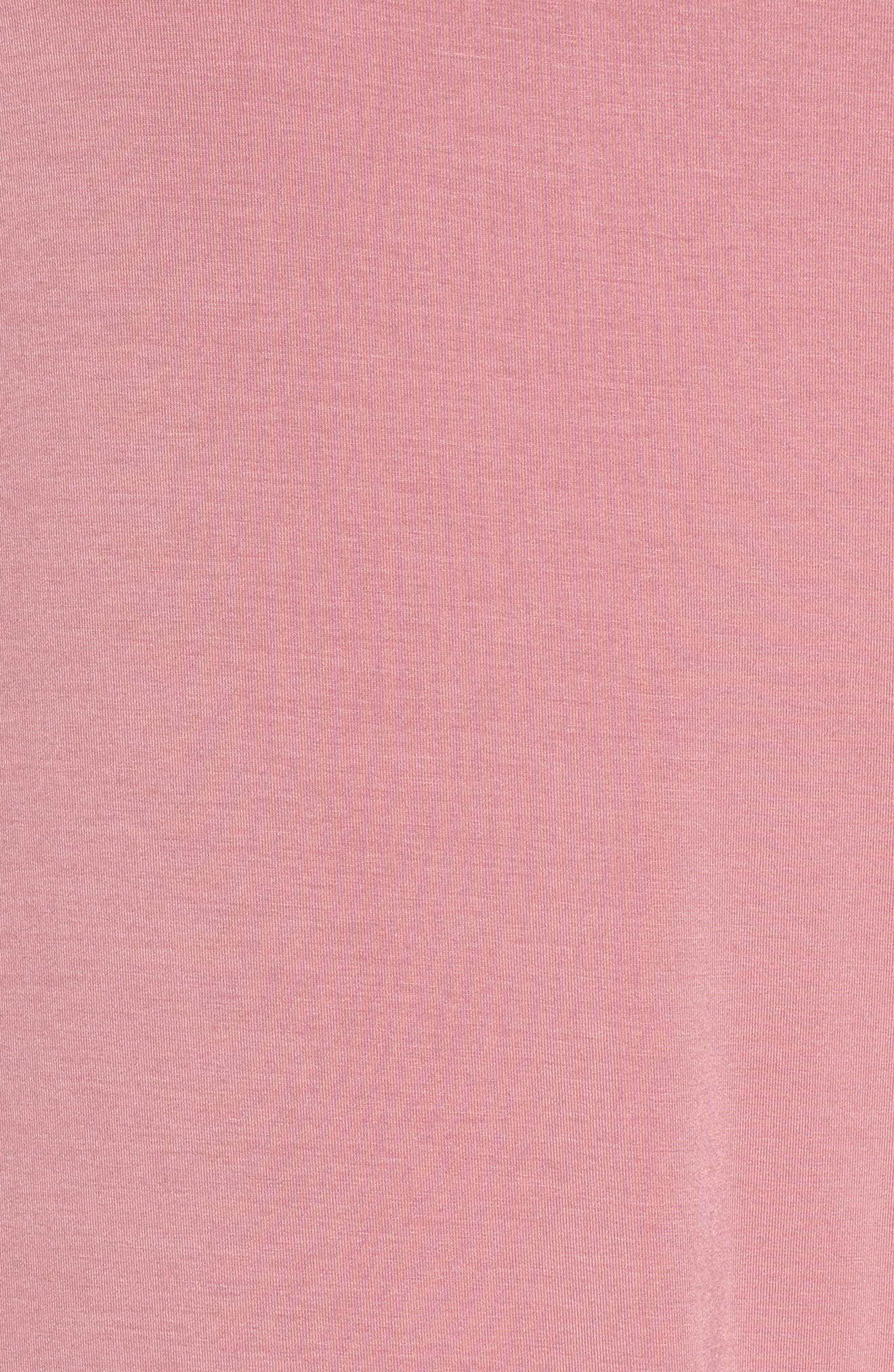 Dolman Sleeve Nightshirt,                             Alternate thumbnail 5, color,                             Purple Mesa
