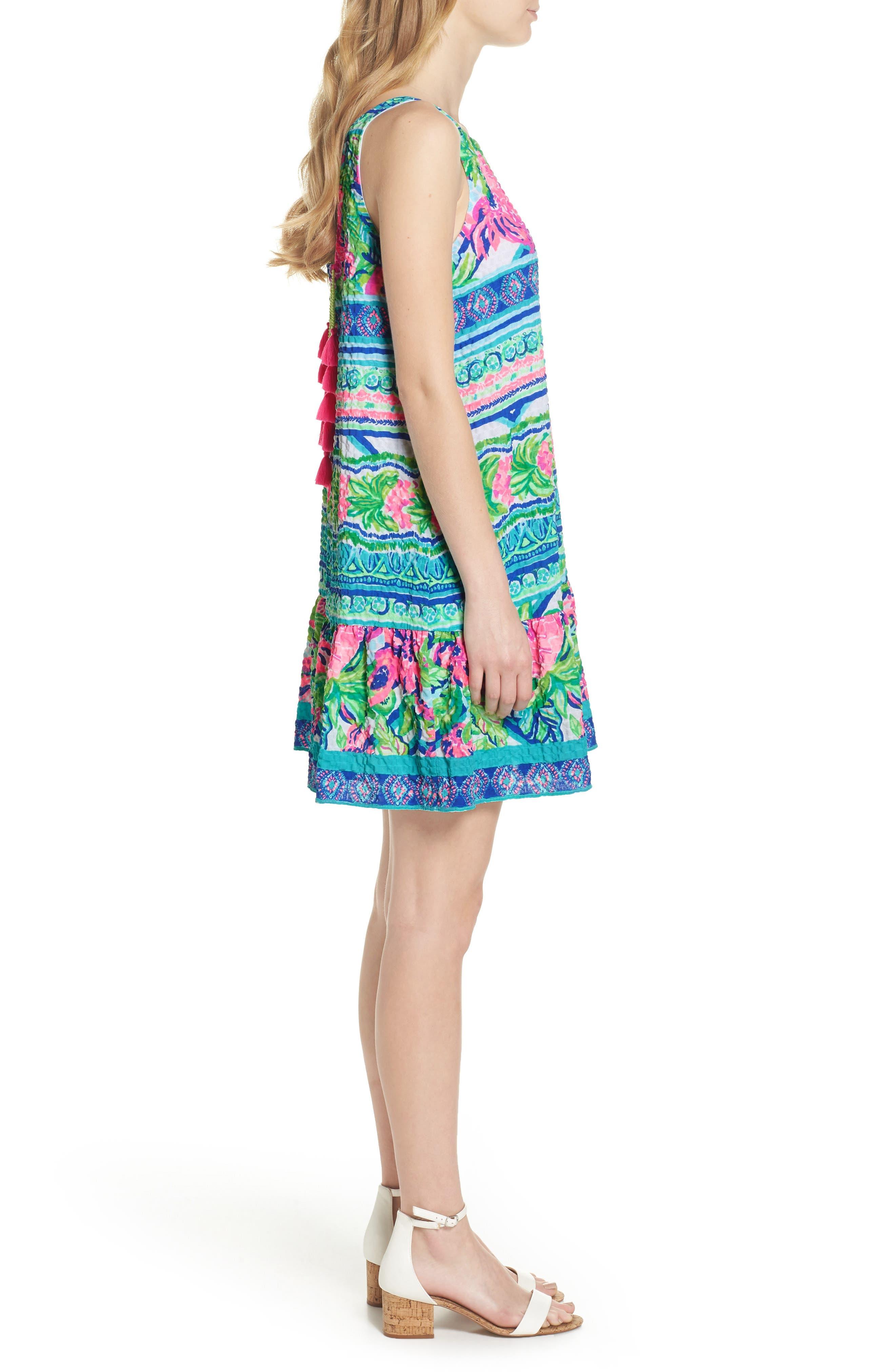 Lilly Pulitzer Gabriella Dress,                             Alternate thumbnail 3, color,                             Multi Daquiri Shack