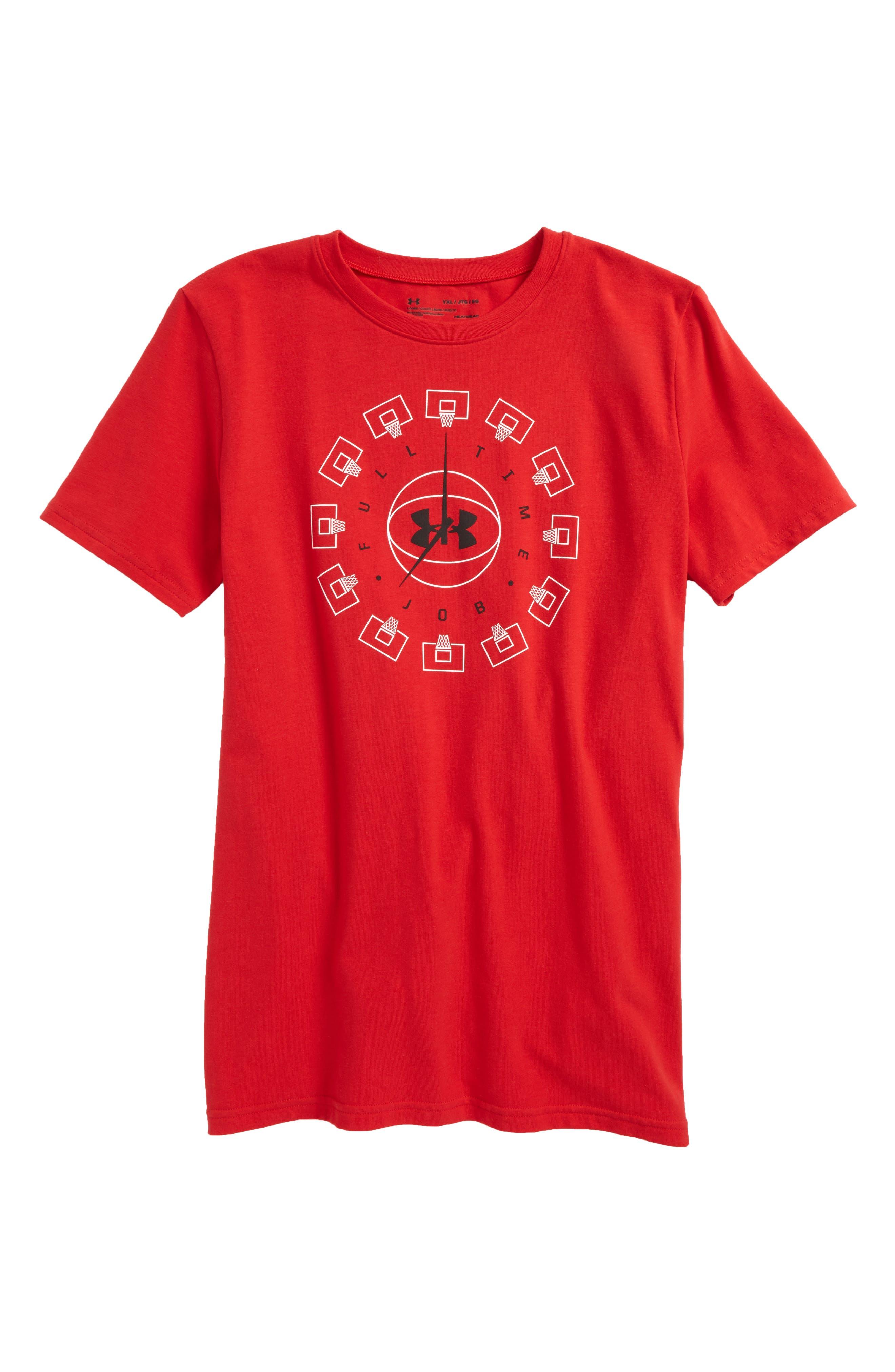 Under Armour Round the Clock HeatGear® T-Shirt (Little Boys & Big Boys)