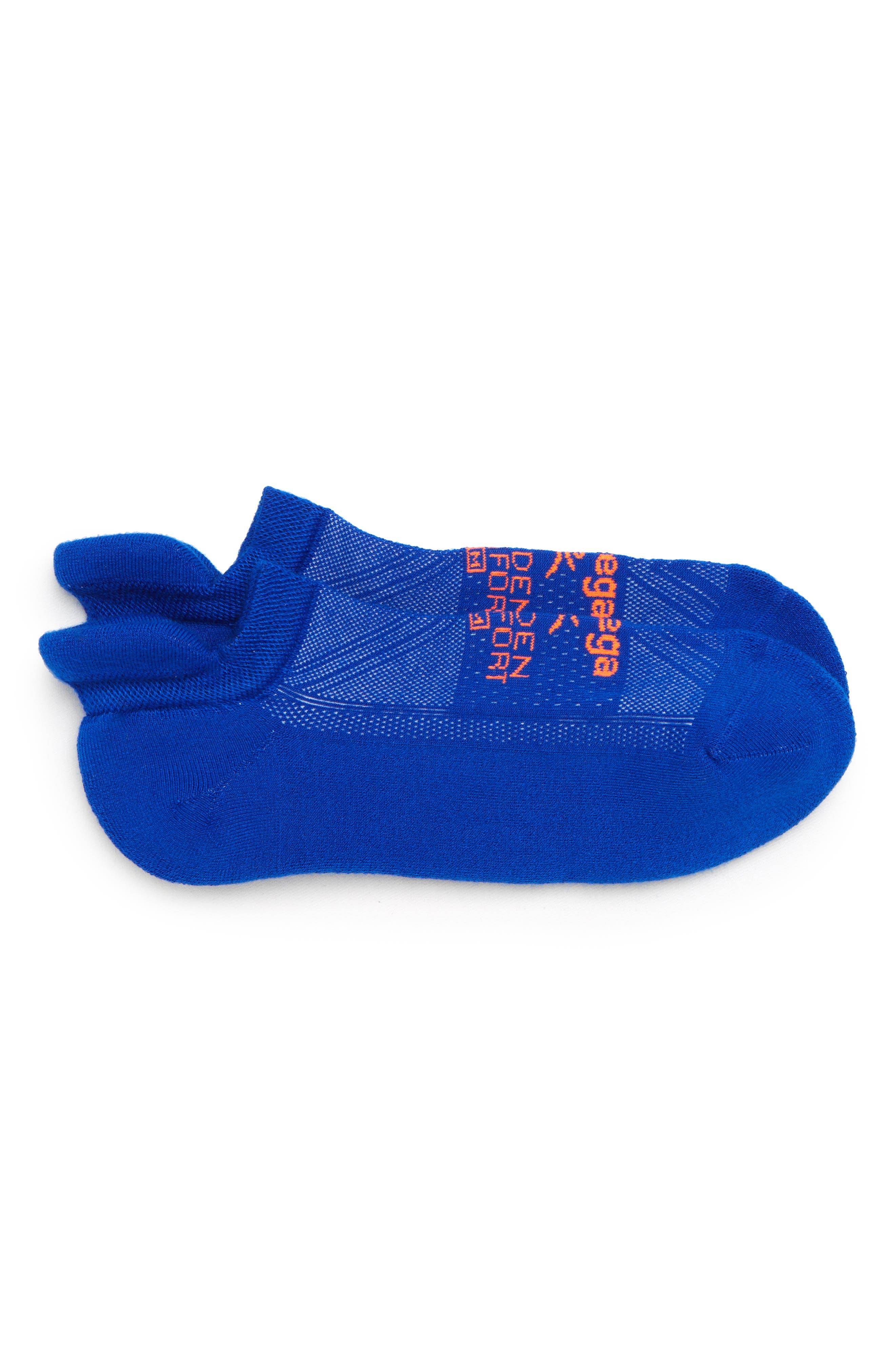 Hidden Comfort Socks,                         Main,                         color, Neon Blue