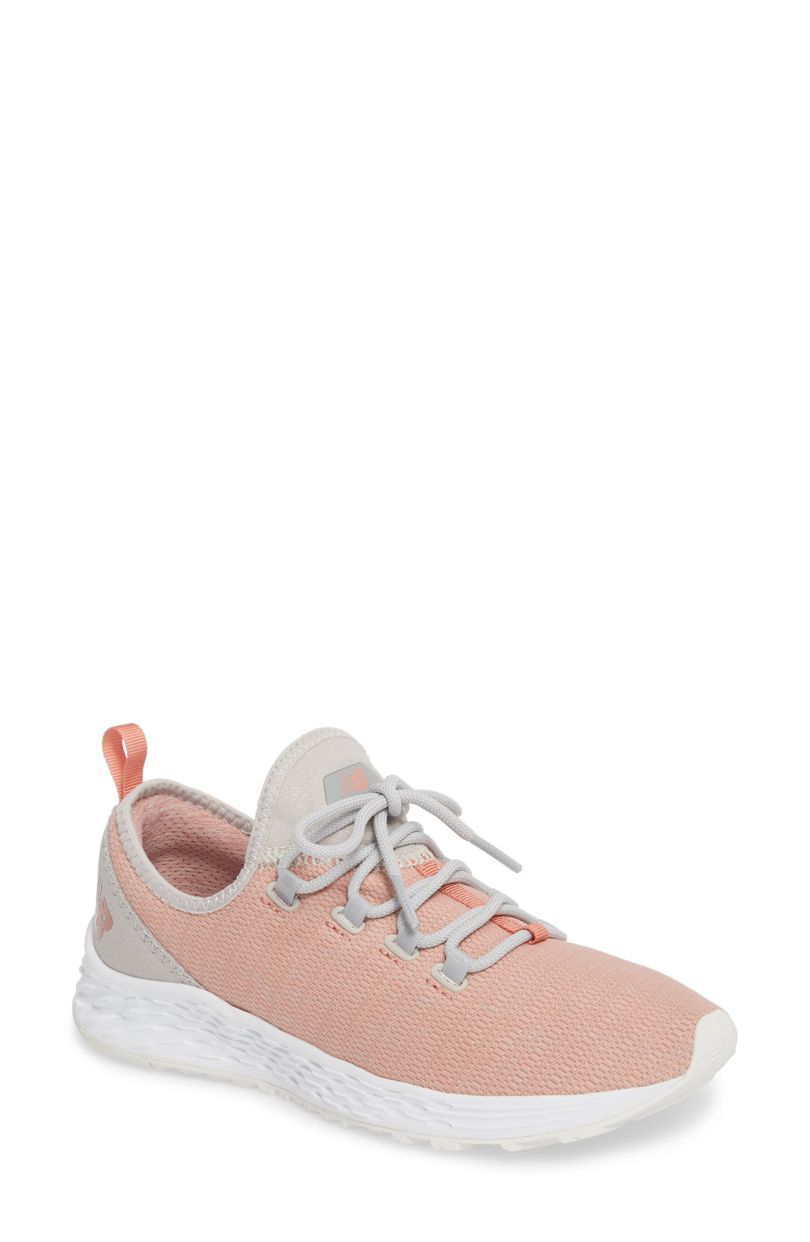 Fresh Foam Arishi Running Shoe,                             Main thumbnail 1, color,                             Dusted Peach