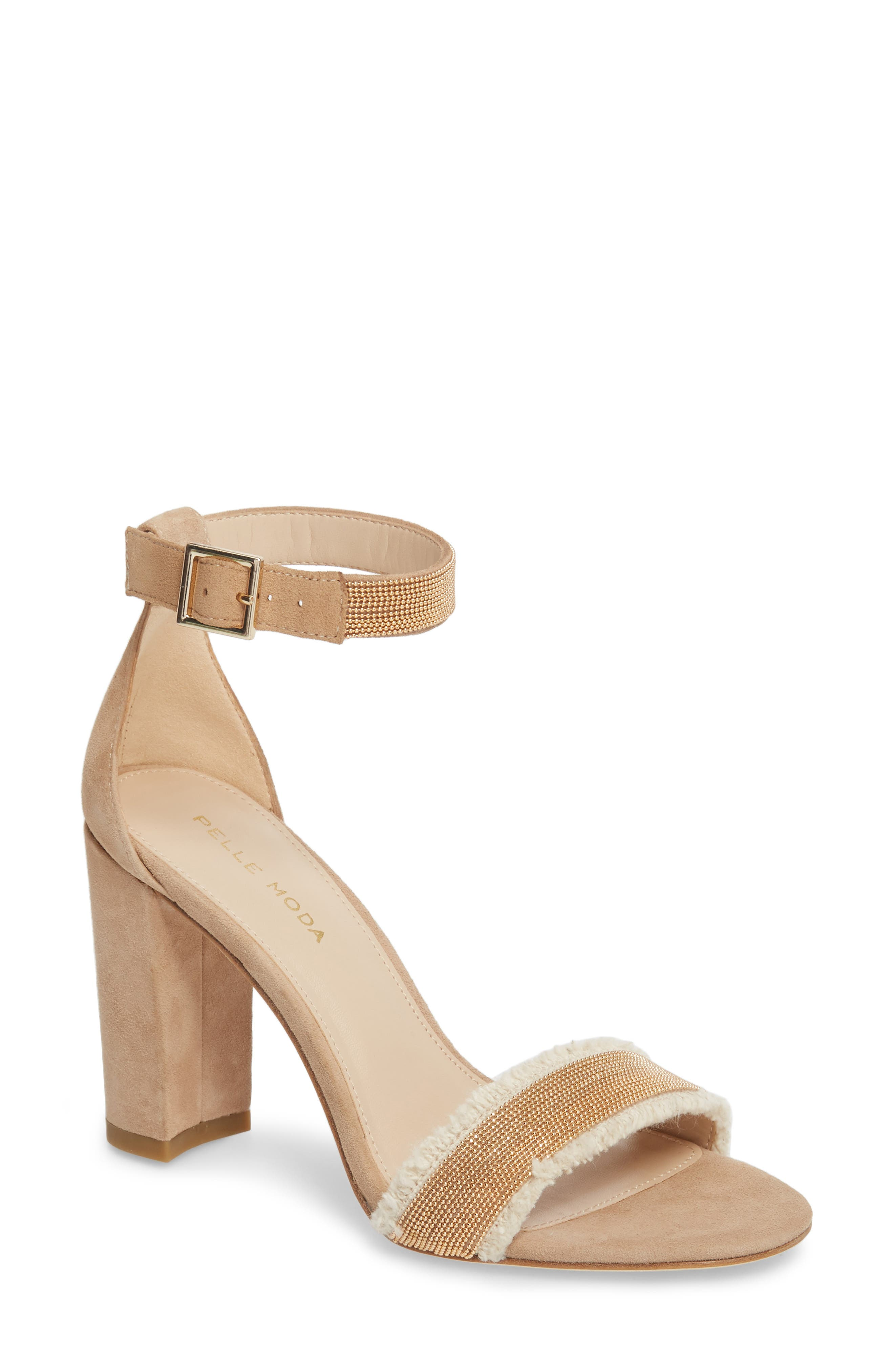 Pelle Moda Bonnie6 Embellished Sandal (Women)